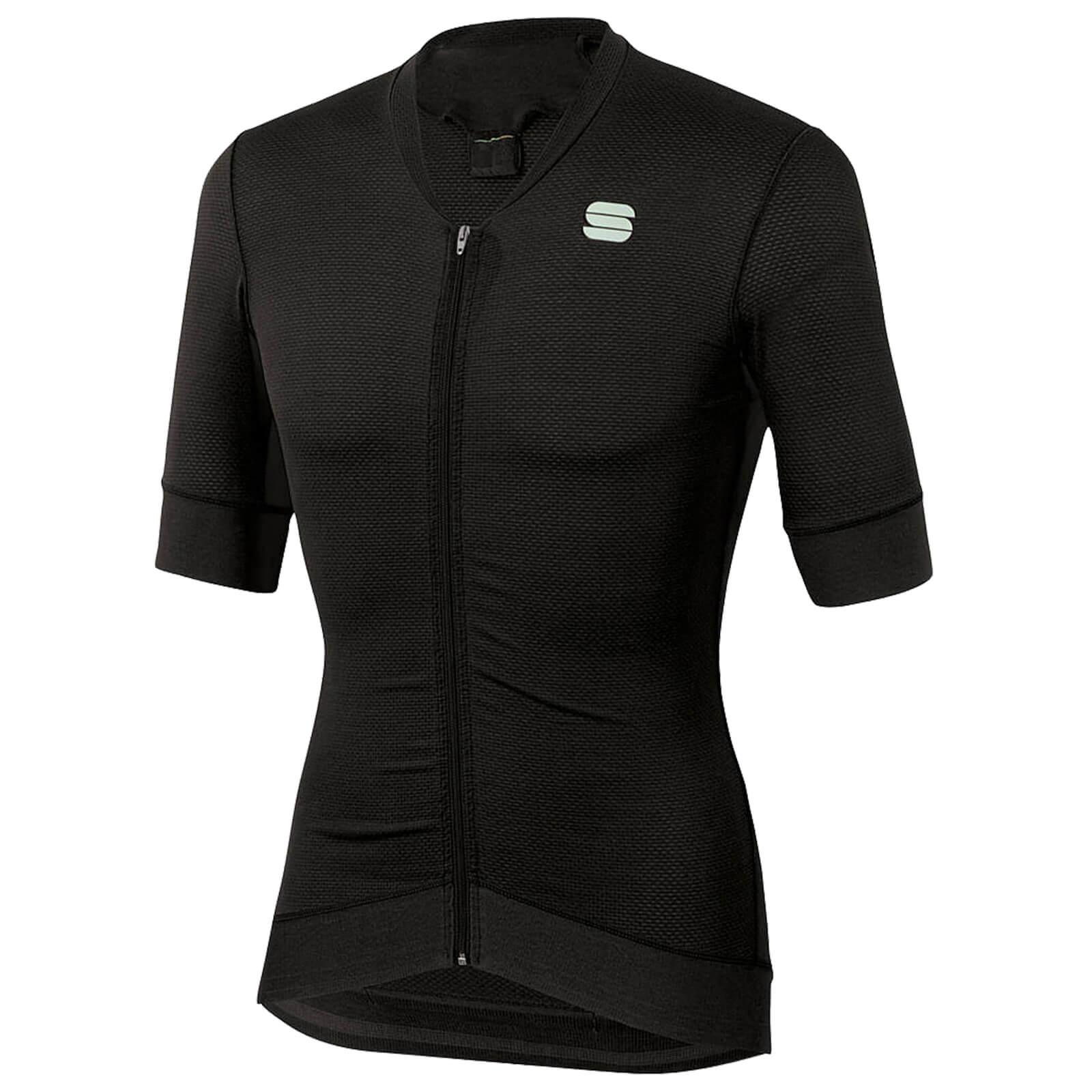 sportful monocrom jersey - xxl - black