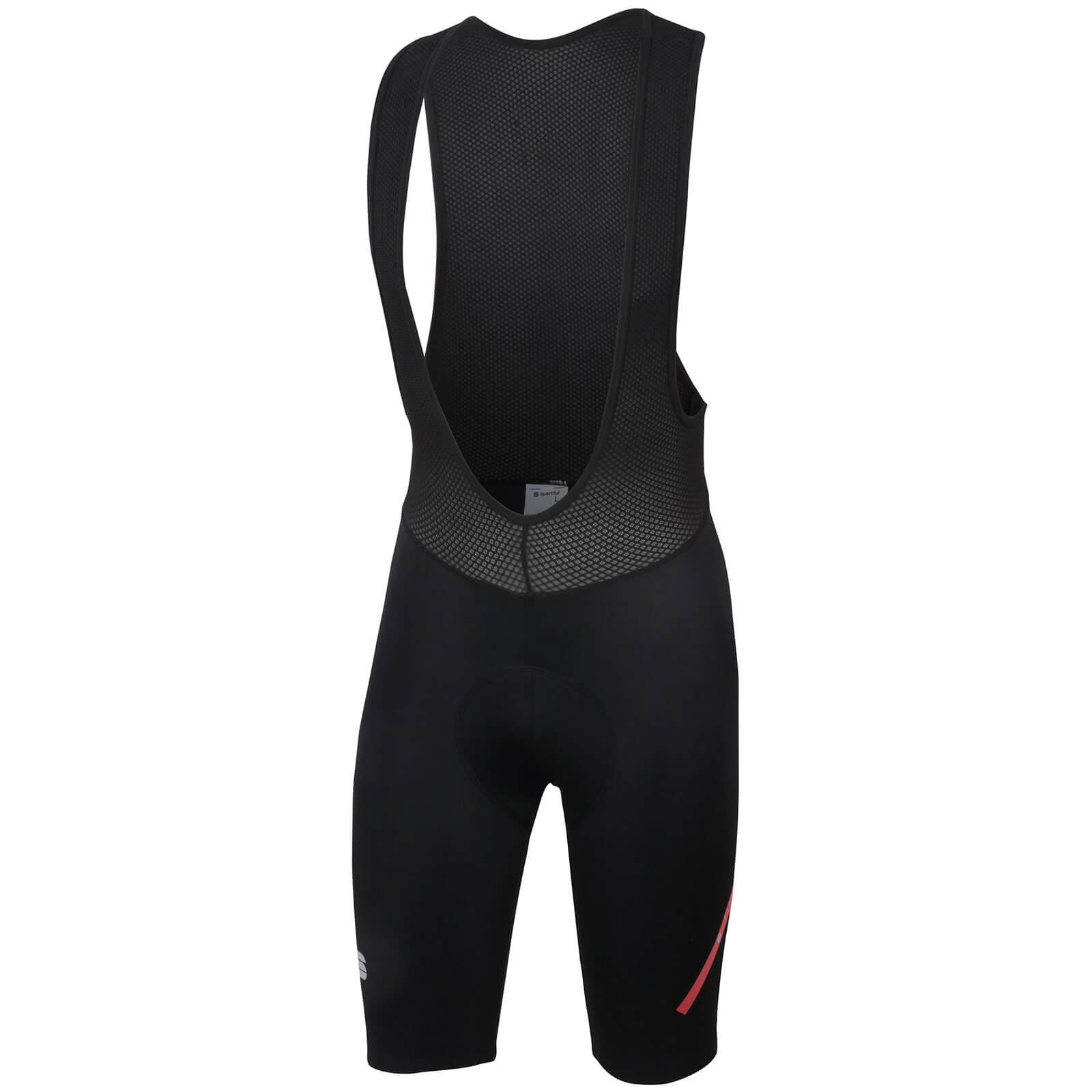 Sportful Fiandre Light NoRain 2 Bib Shorts - Black - L