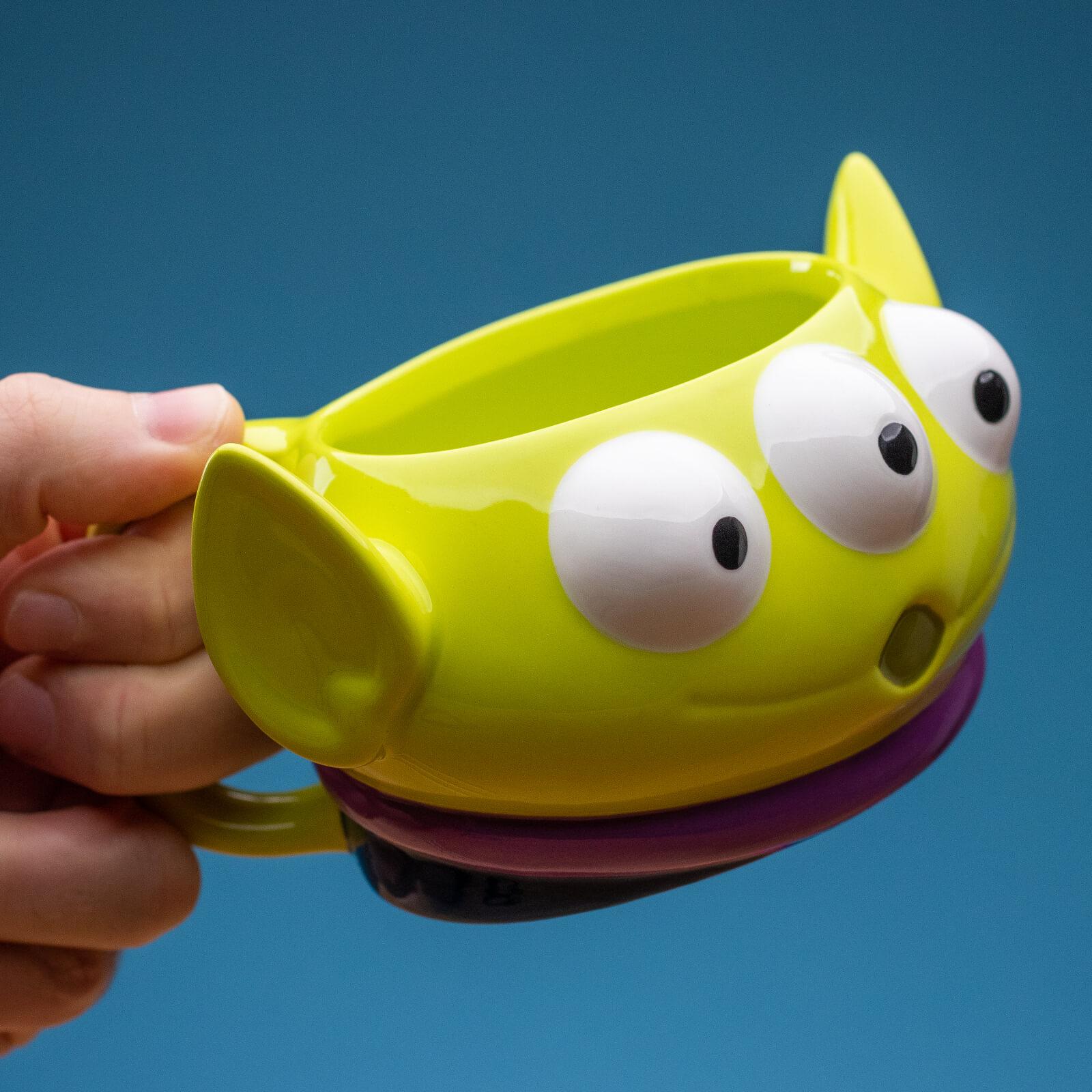 Image of Disney Toy Story Alien Shaped Mug
