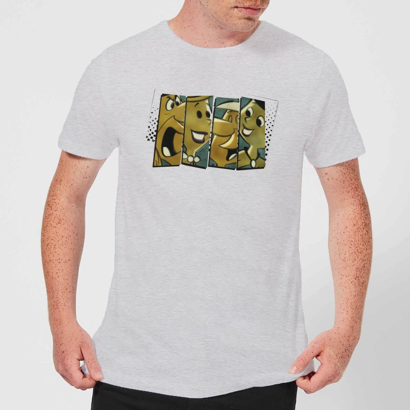 The Flintstones Vintage Men's T Shirt Grey XS Grijs