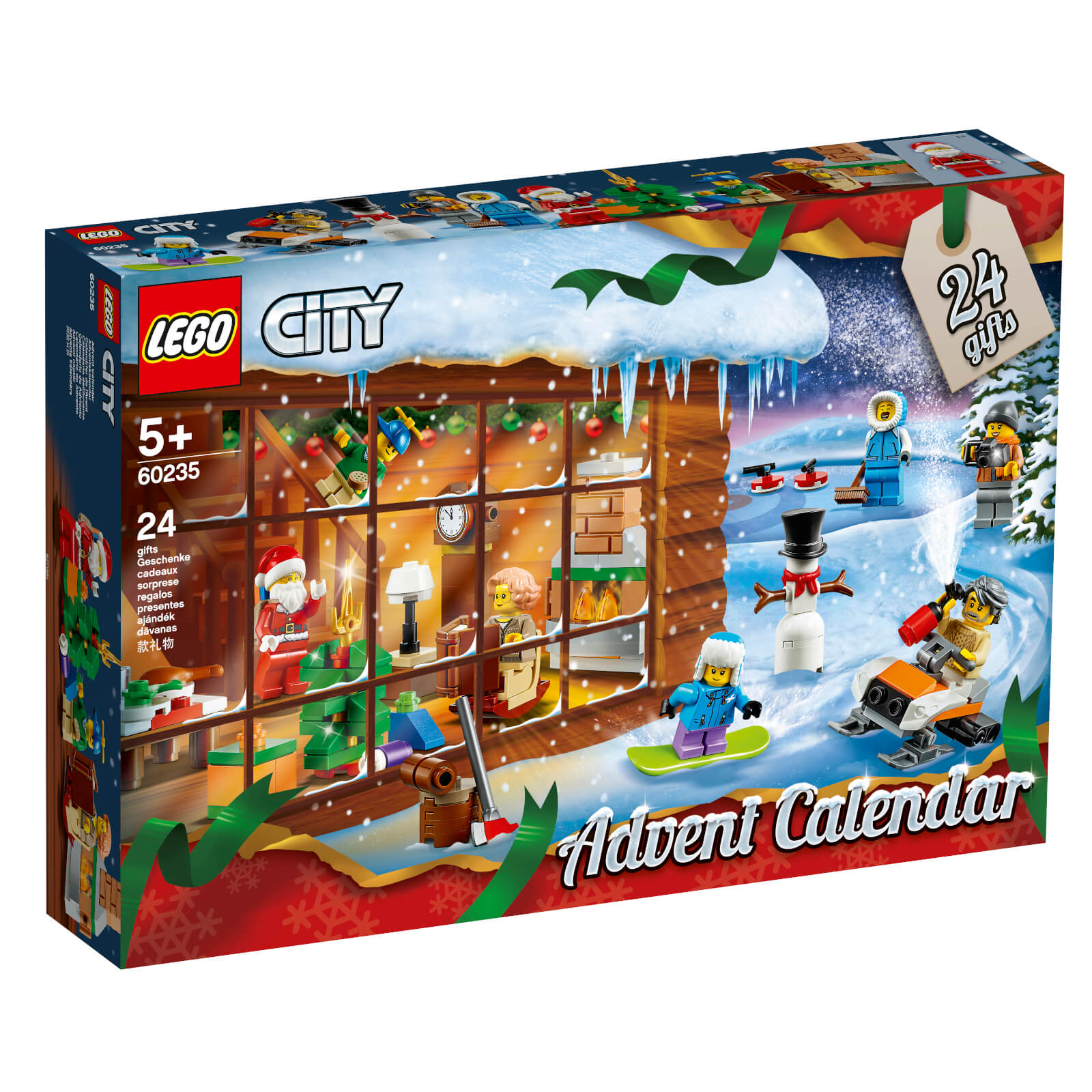 Image of LEGO City Town: City Advent Calendar (60235)