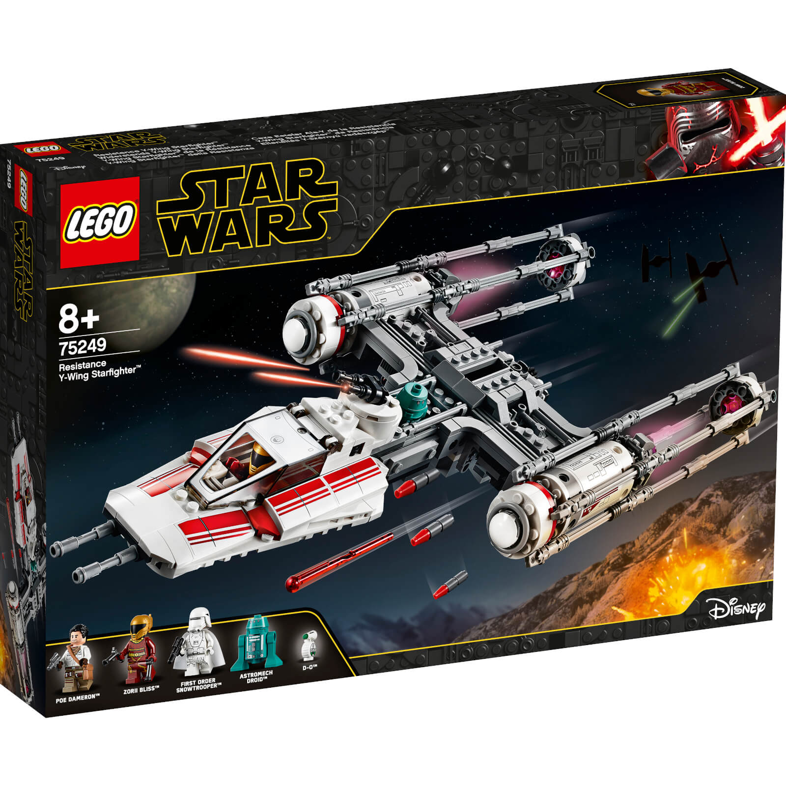 Image of 75249 LEGO® STAR WARS™ Resistance Y-Wing Starfighter™