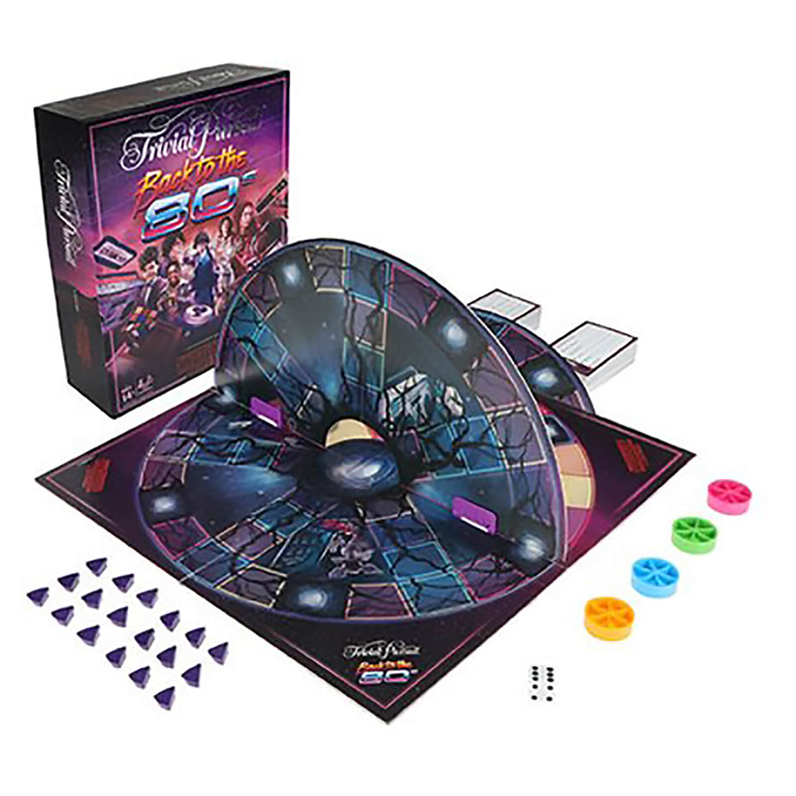 Image of Hasbro Trivial Pursuit - Stranger Things Back To The 80's Edition