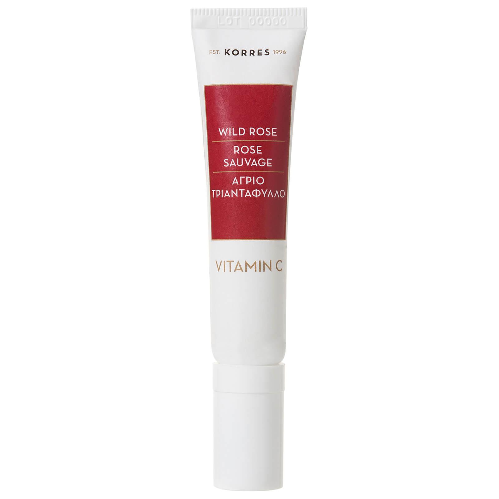 Купить Осветляющий крем для кожи вокруг глаз с витамином C KORRES Apothecary Wild Rose Vitamin C Brightening Eye Cream 15ml