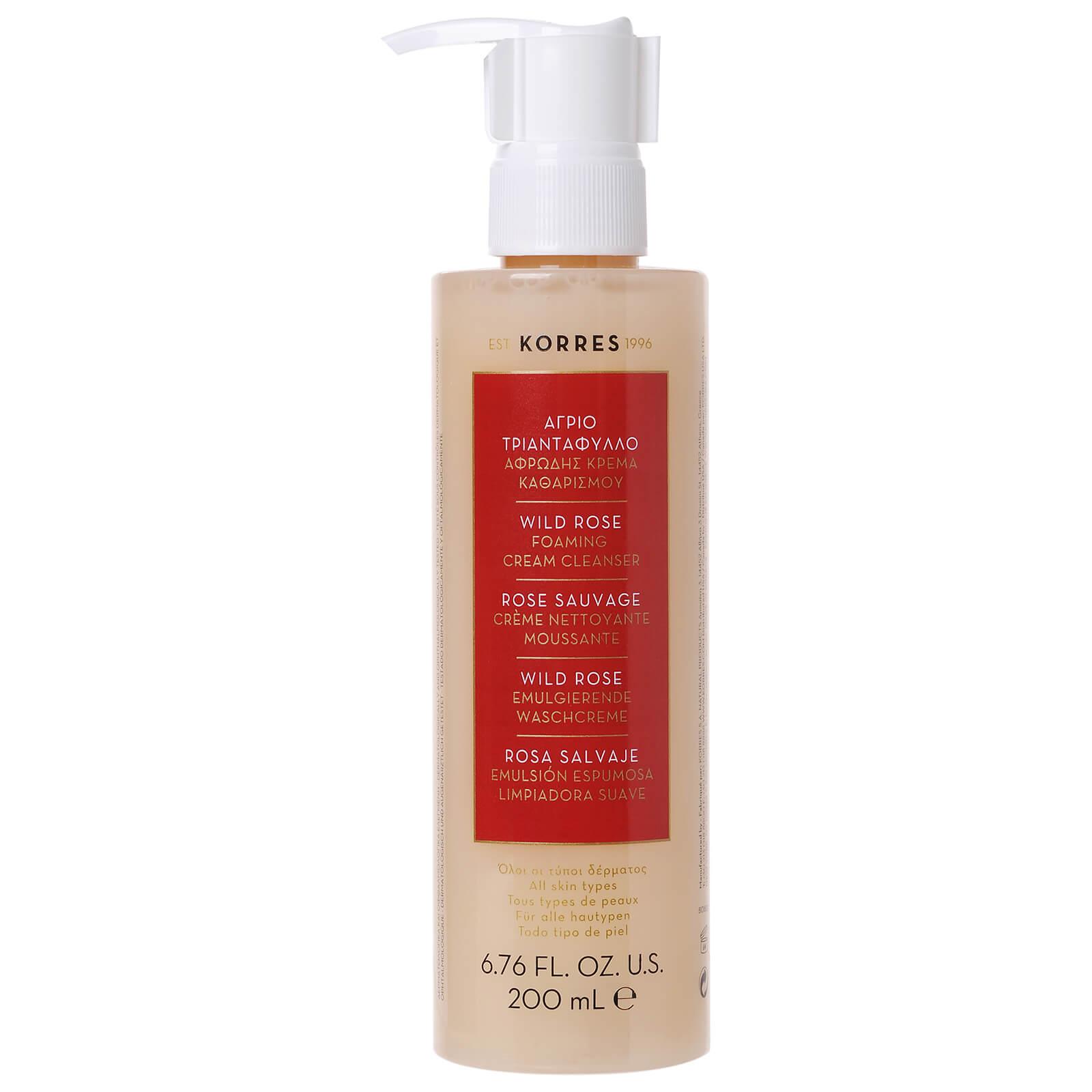 Купить Пенка для умывания KORRES Apothecary Wild Rose Foaming Cream Cleanser 200ml
