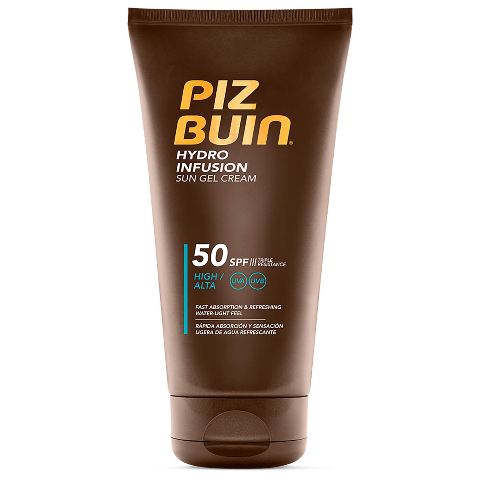 Piz Buin Hydro Infusion Sun Gel Cream SPF 50 150ml  - Купить