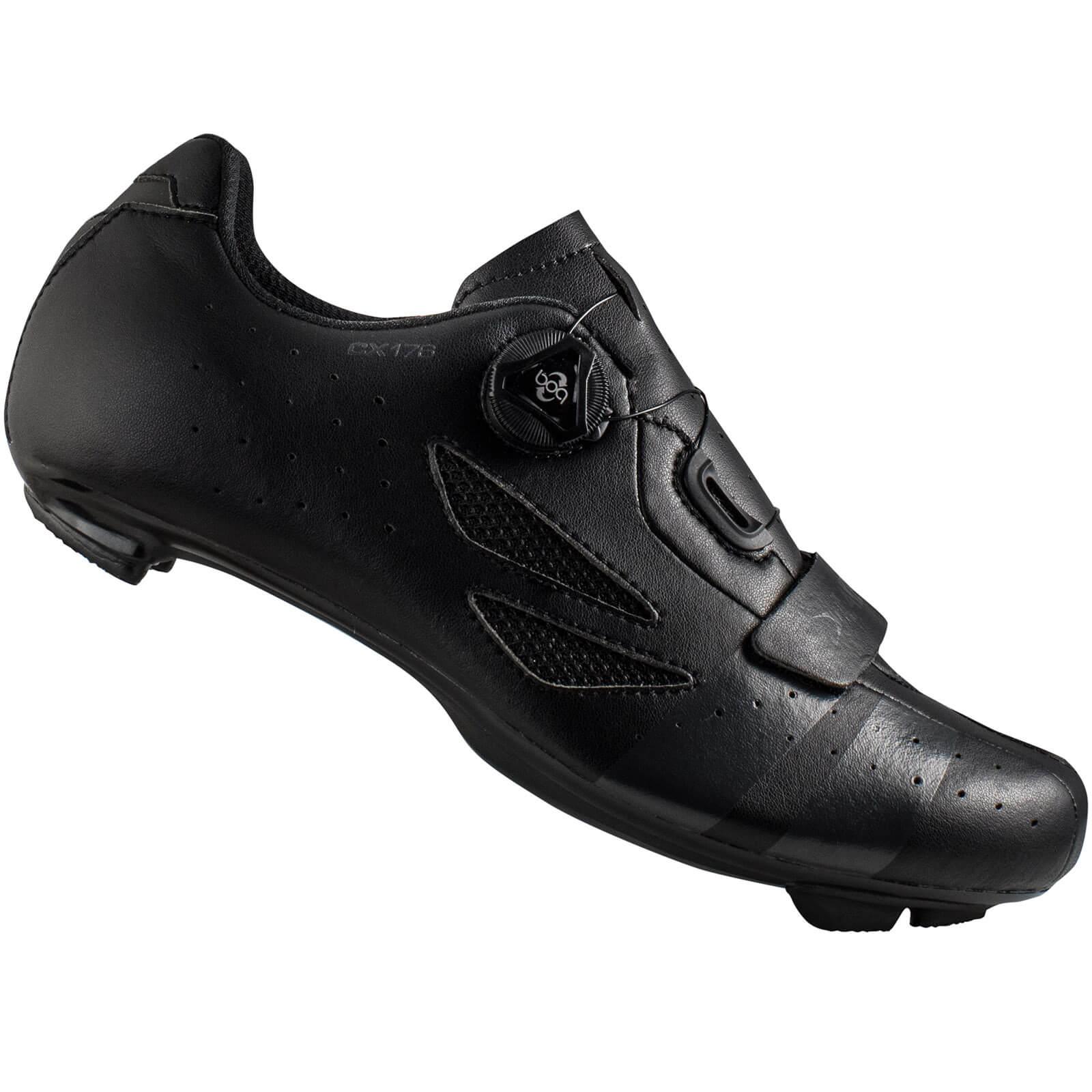 Lake Cx176 Road Shoes - Black/grey - Eu 44
