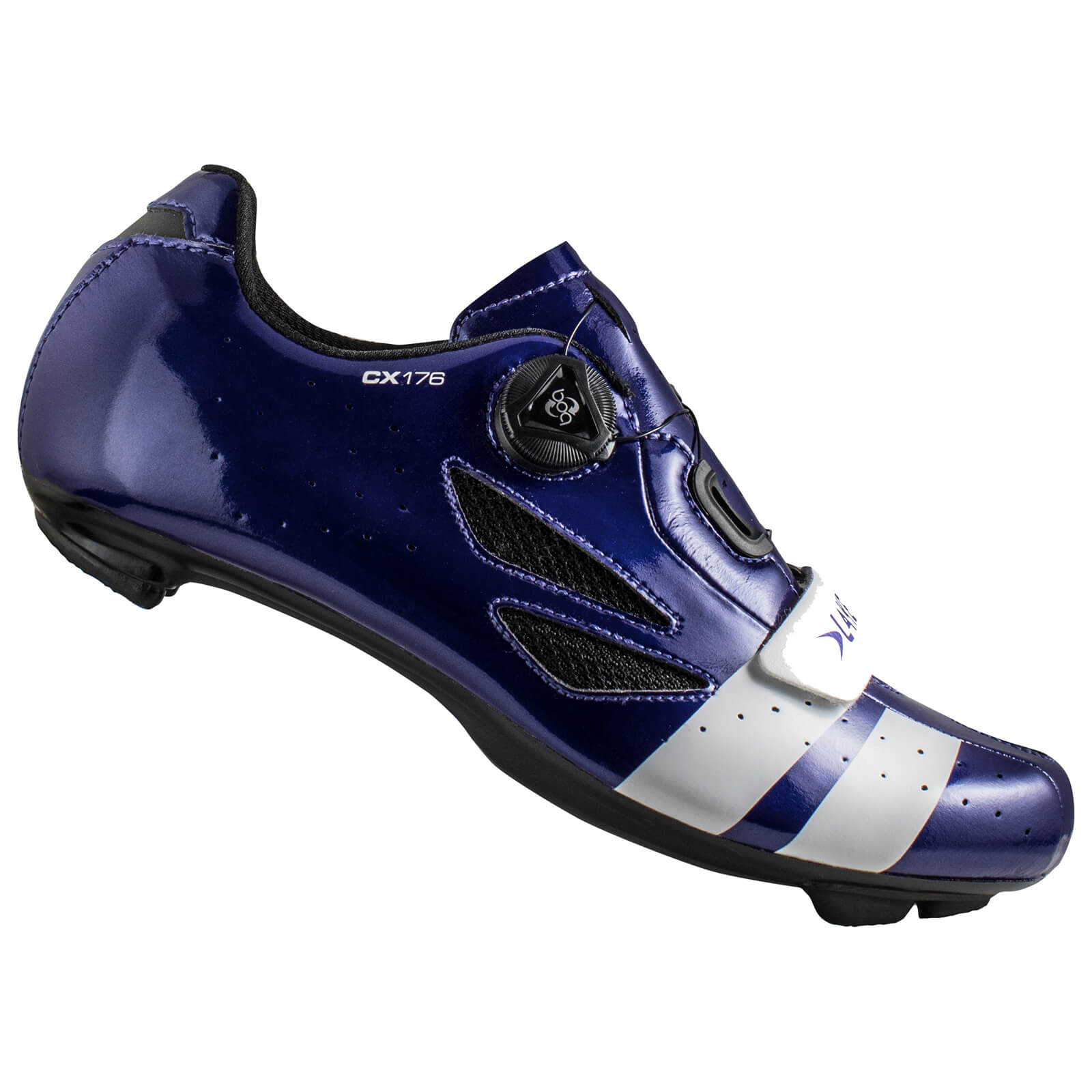 Lake CX176 Road Shoes - Navy Blue/White - EU 46