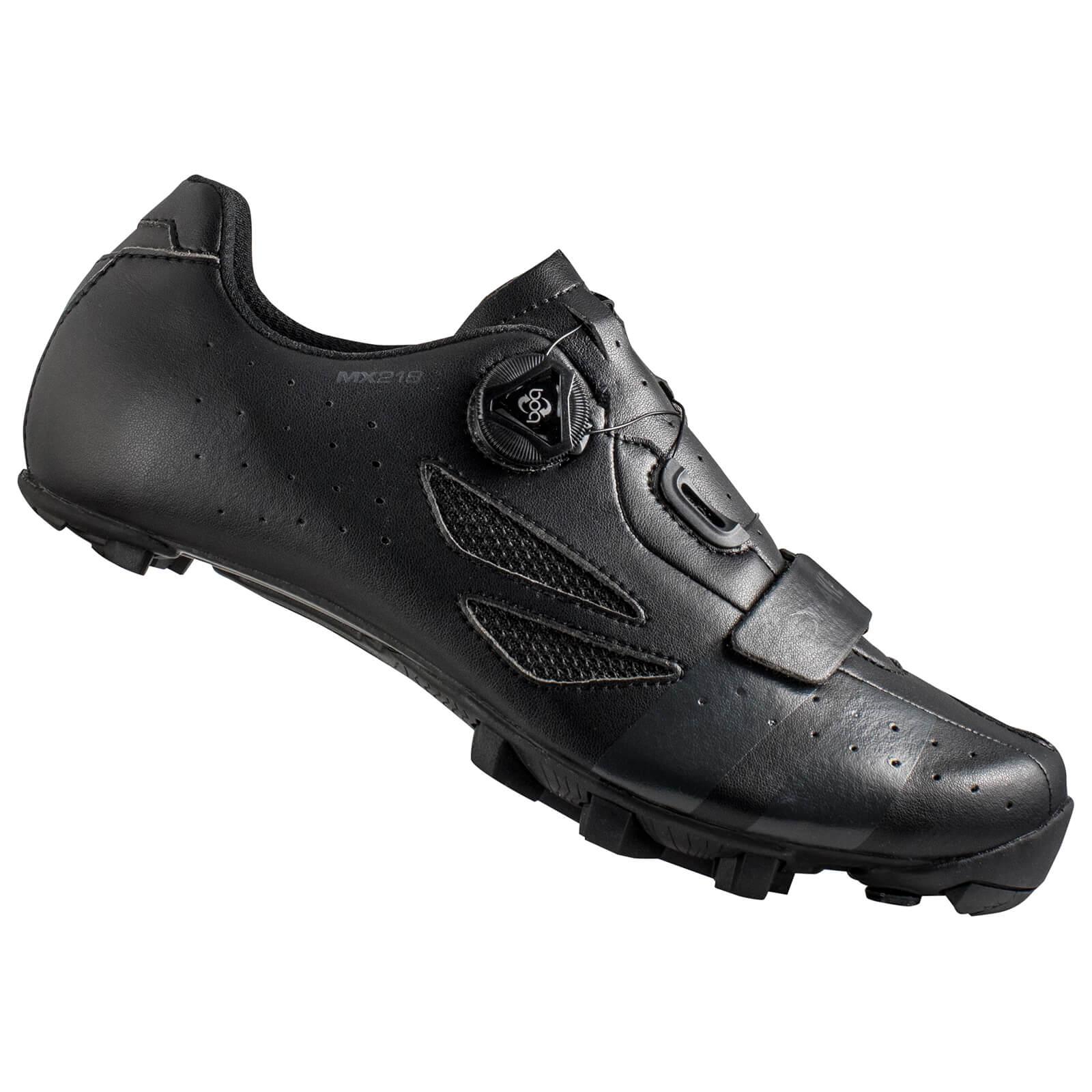 Lake MX218 Carbon MTB Shoes - Black/Grey - EU 40