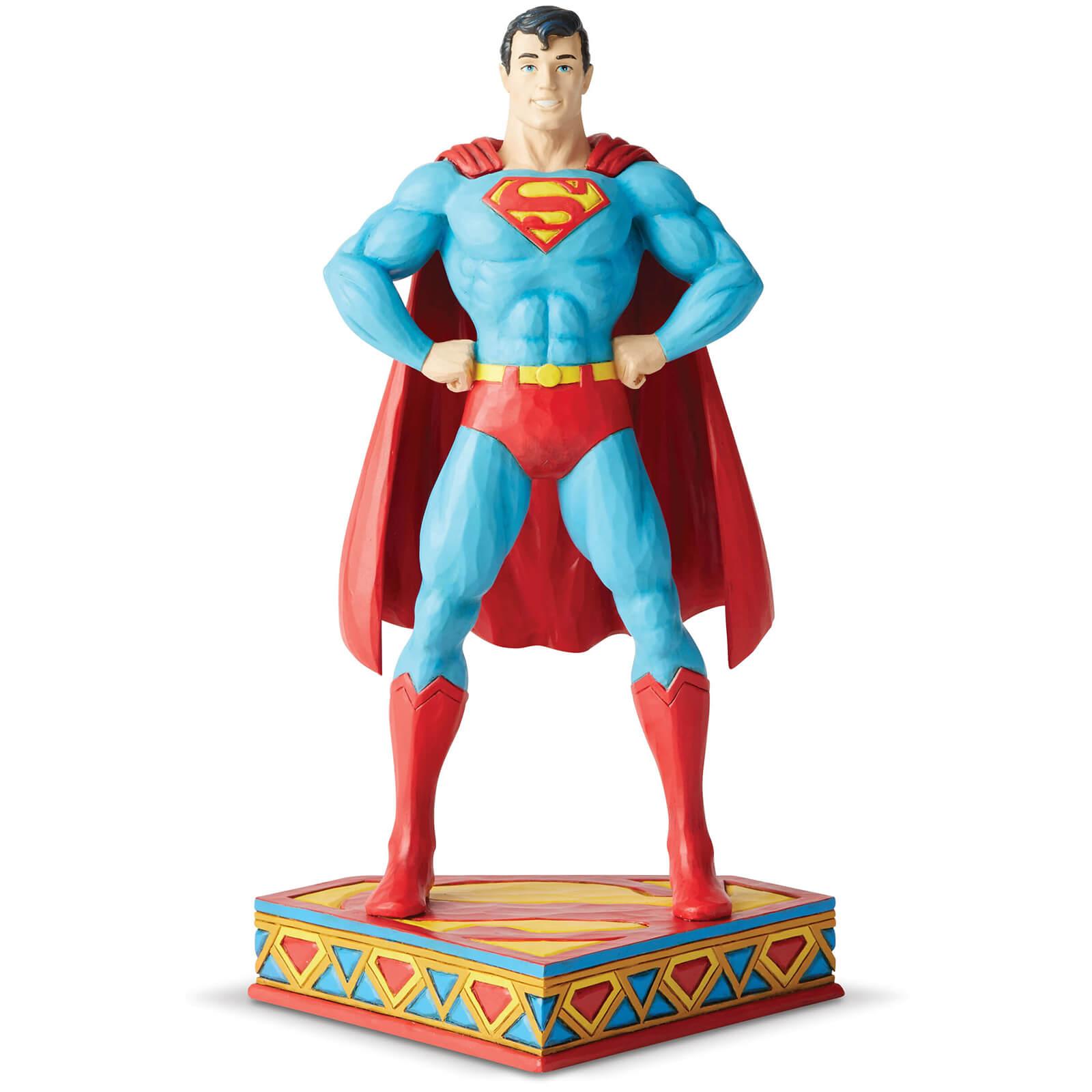 Image of DC Comics by Jim Shore Superman Silver Age Figurine 22.0cm