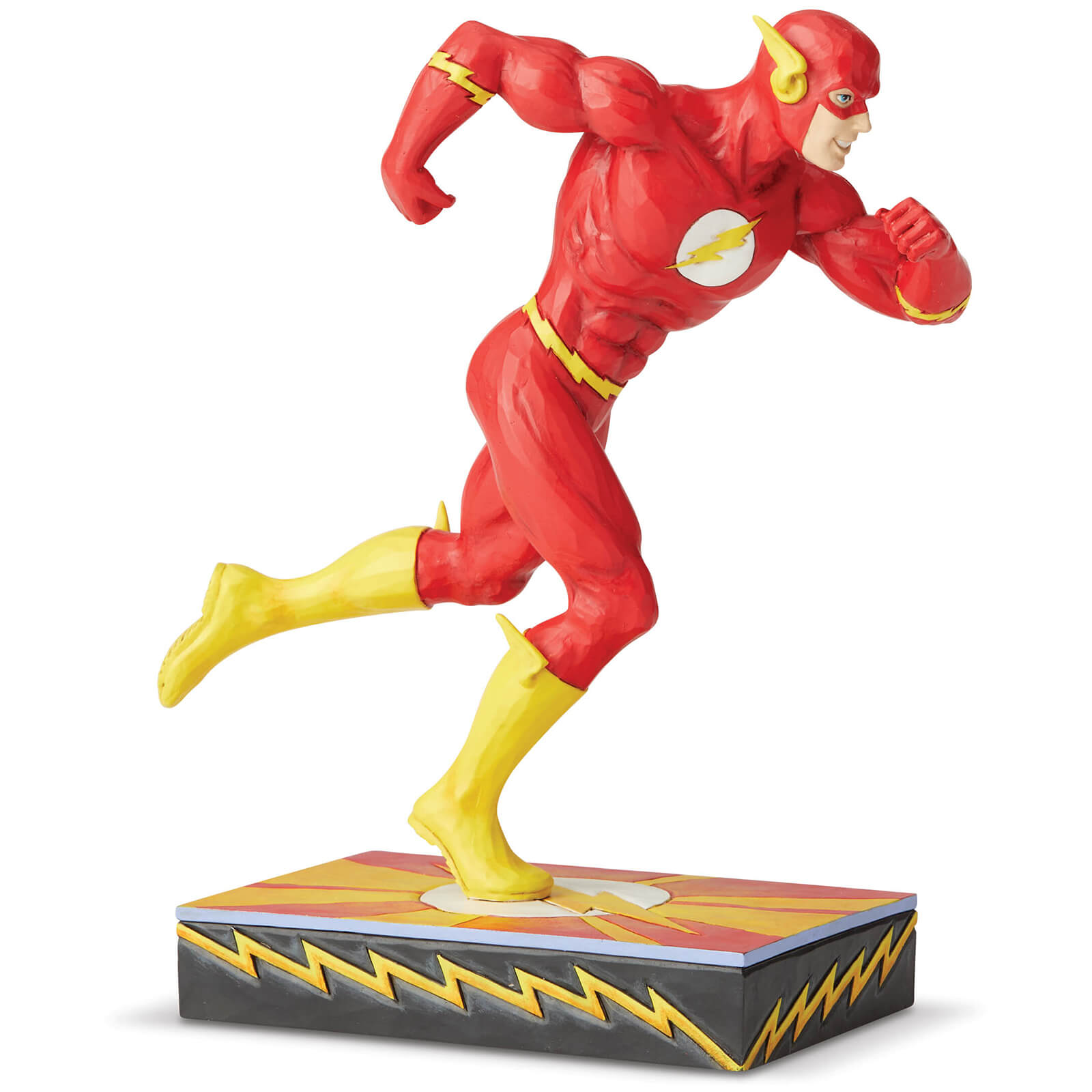 Image of DC Comics by Jim Shore Flash Silver Age Figurine 19.0cm