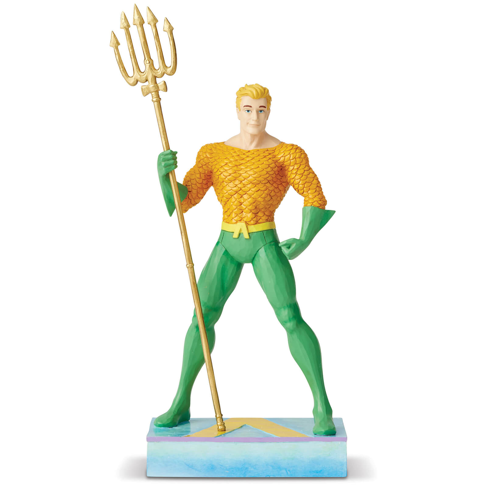 Image of DC Comics by Jim Shore Aquaman Silver Age Figurine 22.0cm