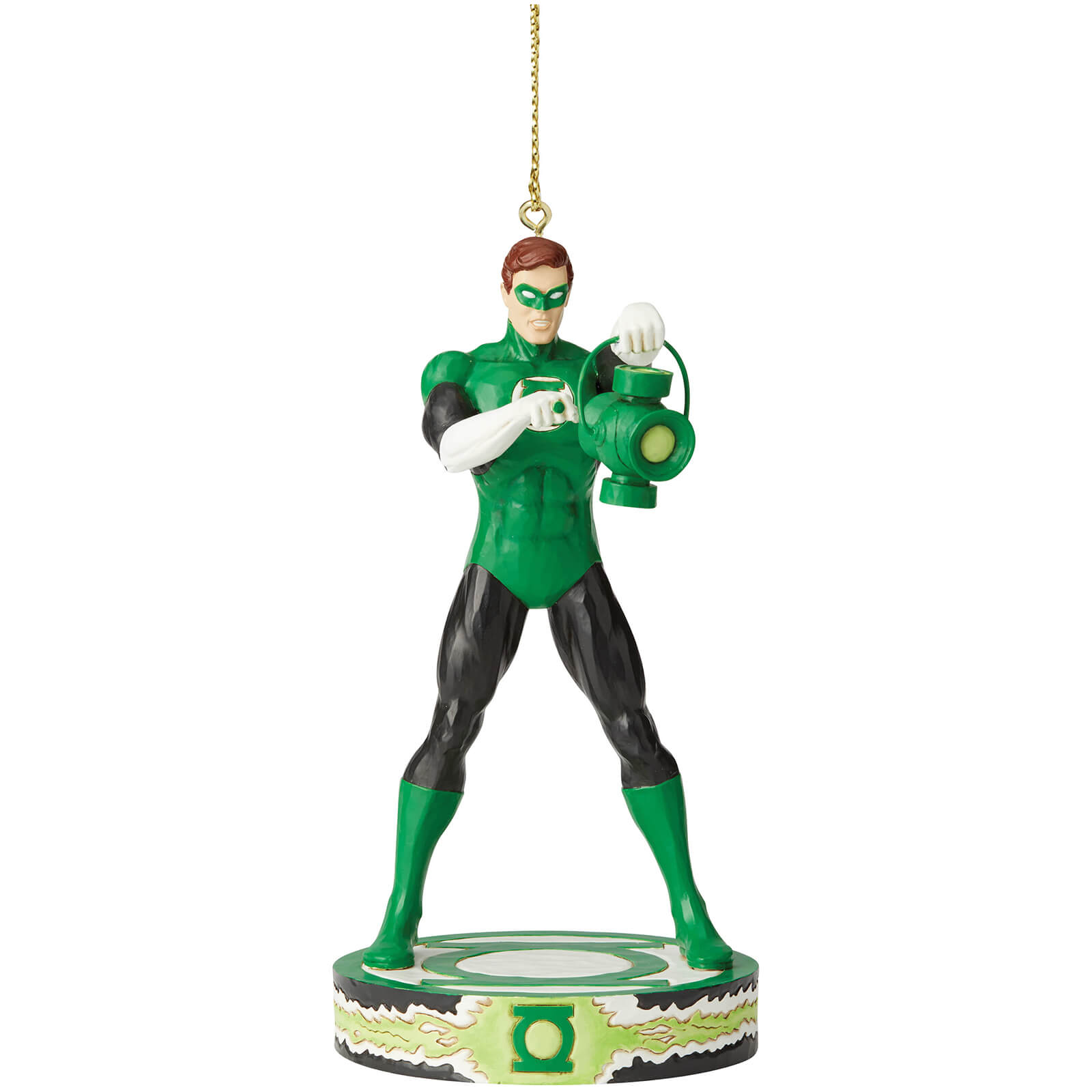 Image of DC Comics by Jim Shore Green Lantern Hanging Ornament 11.0cm