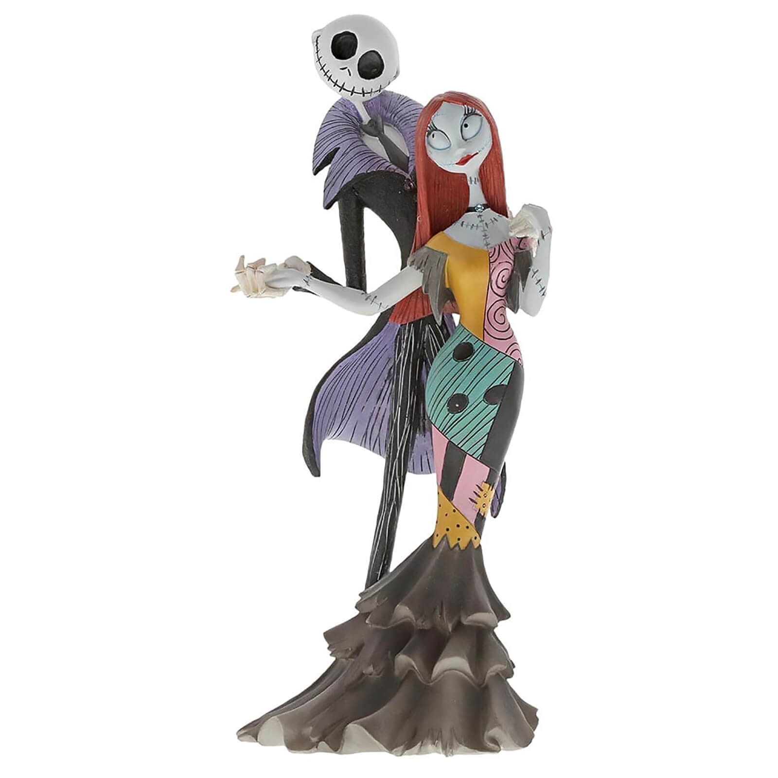 enesco disney showcase collection statue jack and sally deluxe (nightmare before christmas) 22 cm