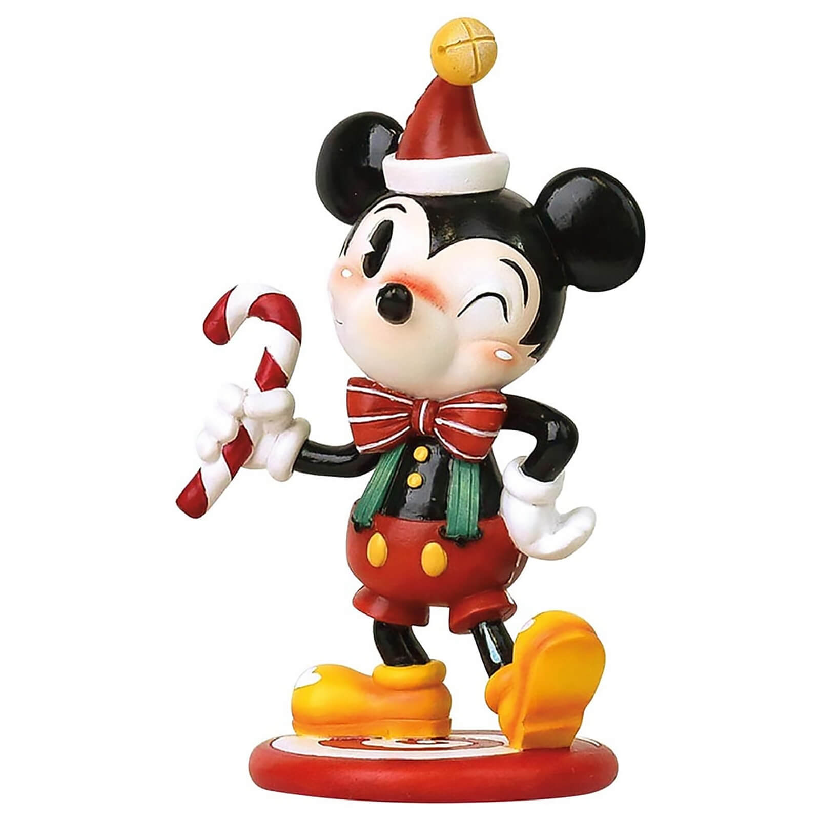 Image of Miss Mindy Mickey Mouse Christmas Figurine 15.0cm