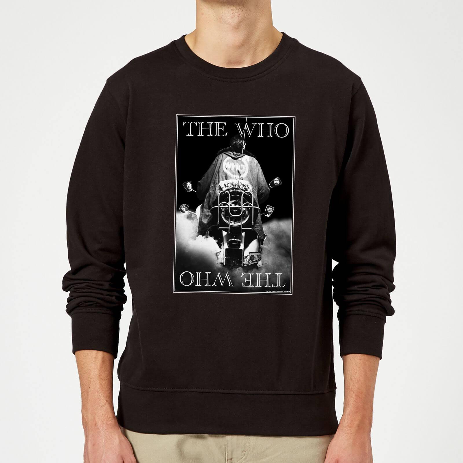 The Who Quadrophenia Sweatshirt - Black - L - Black