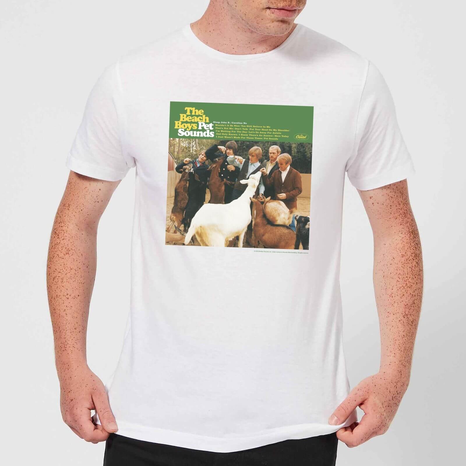 The Beach Boys Pet Sounds Herren T-Shirt - Weiß - XL - Weiß