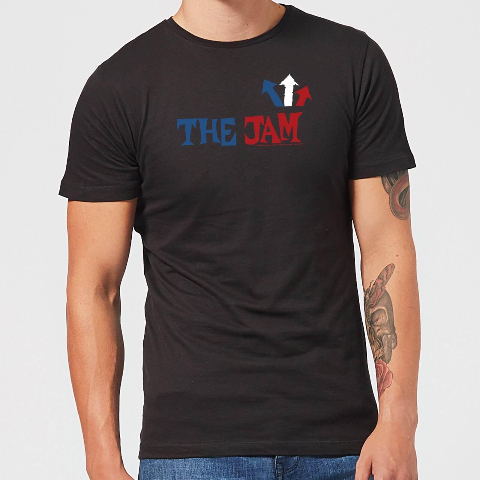 The Jam Text Logo Men's T-Shirt - Black - L - Black