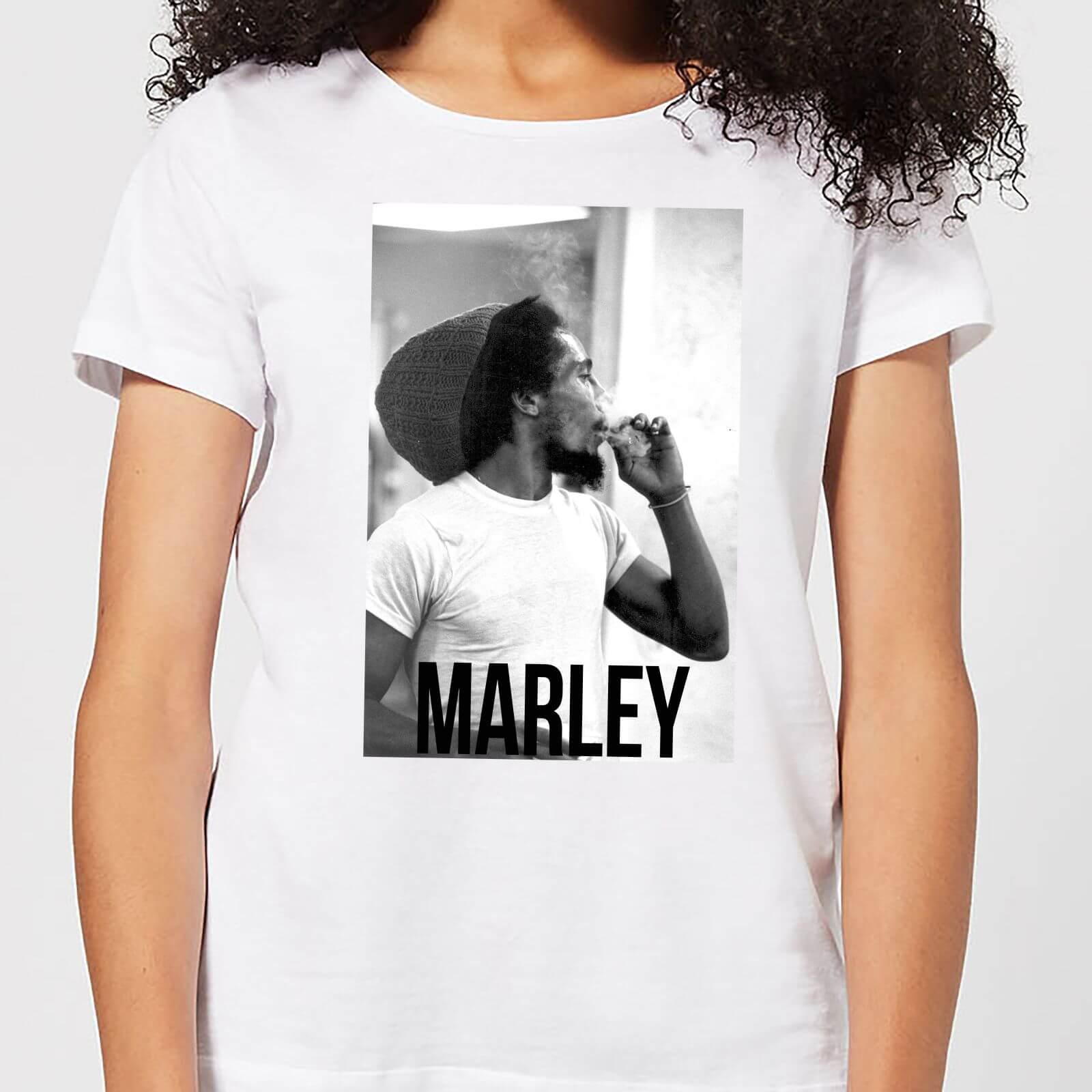 Bob Marley AB BM Damen T-Shirt - Weiß - S - Weiß