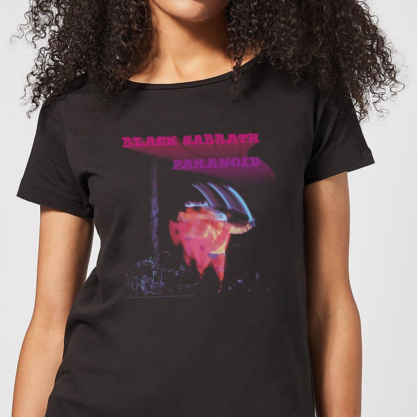 Black Sabbath Paranoid Damen T-Shirt - Schwarz - XXL - Schwarz