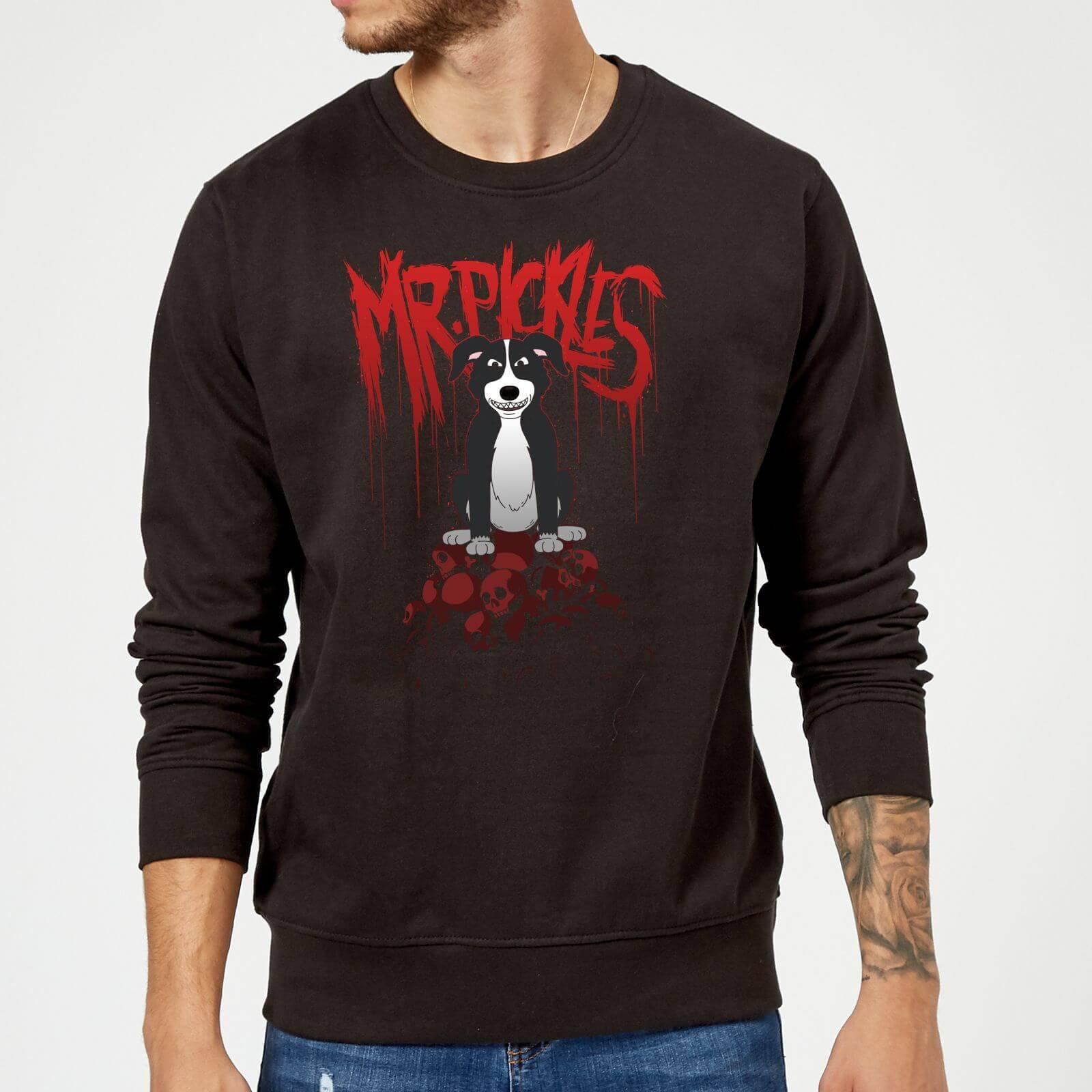Mr Pickles Pile Of Skulls Sweatshirt - Black - M - Black