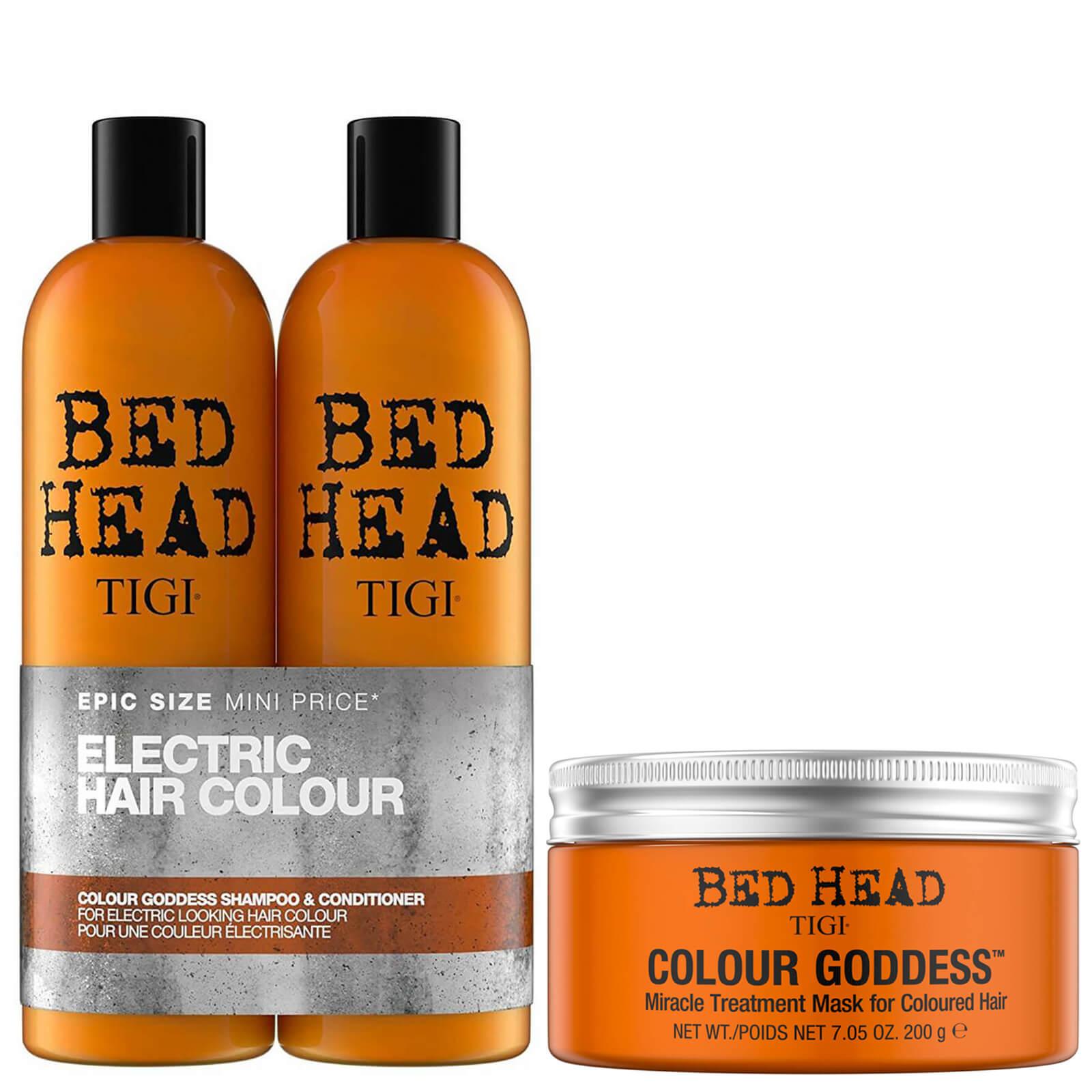 TIGI Bed Head Coloured Hair Shampoo, Conditioner and Hair Mask Set