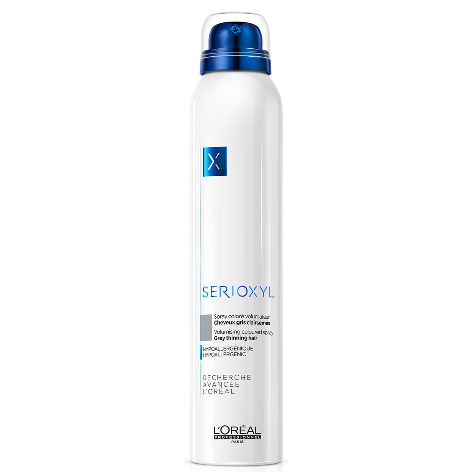 L'Oréal Professionnel Serioxyl Volumising Hair Fibre Spray - Grey 250ml