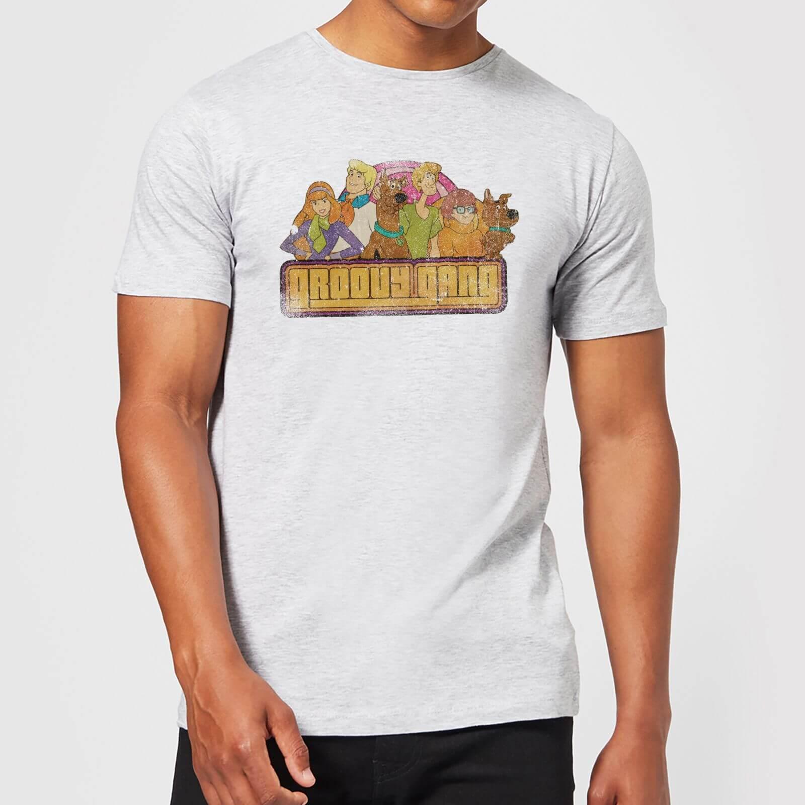 Scooby Doo Groovy Gang Men's T-Shirt - Grey - XXL - Grey