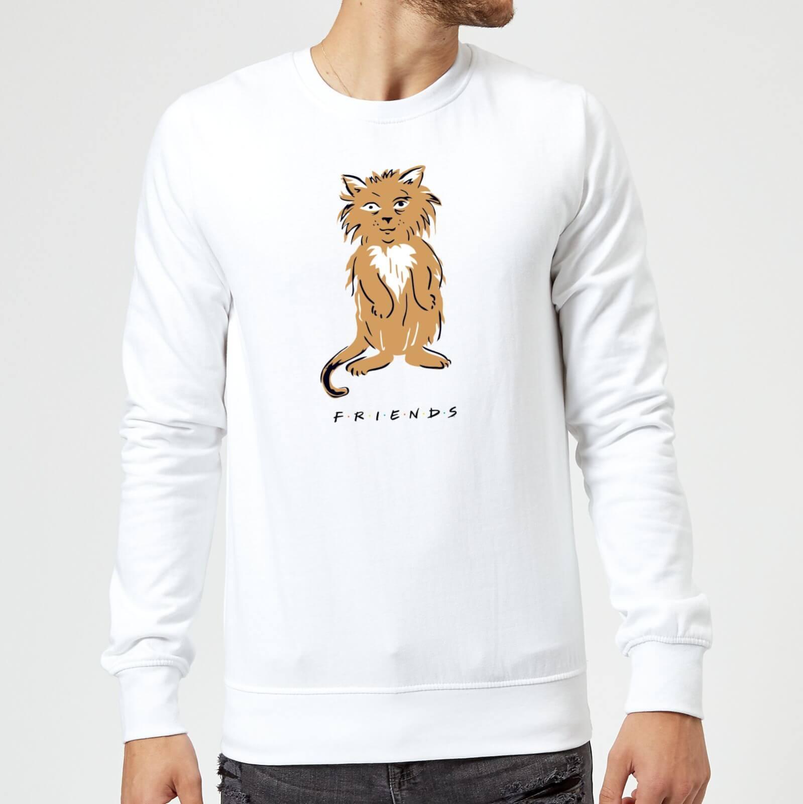 Friends Smelly Cat Sweatshirt - White - XXL - White