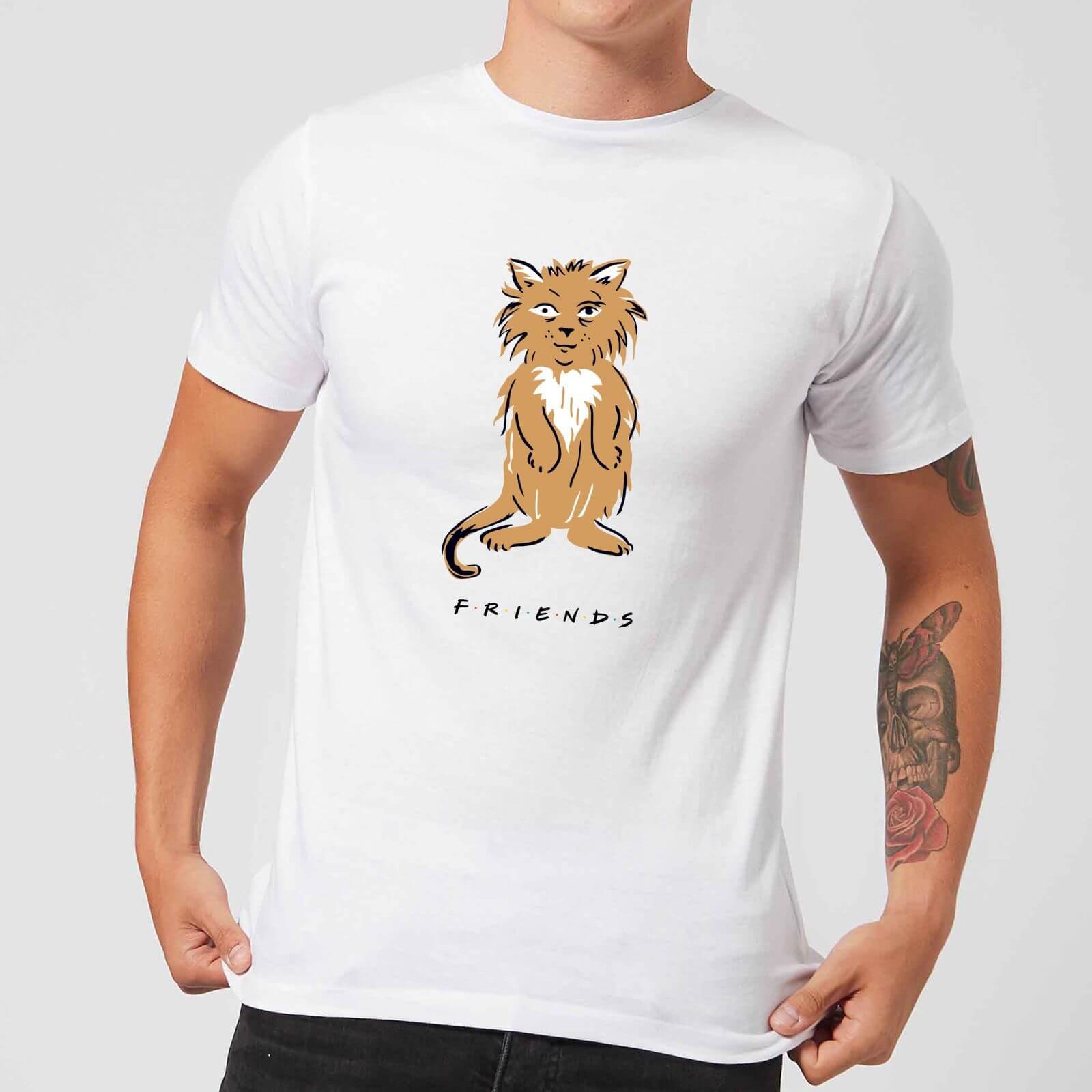 Friends Smelly Cat Men's T-Shirt - White - M - Bianco