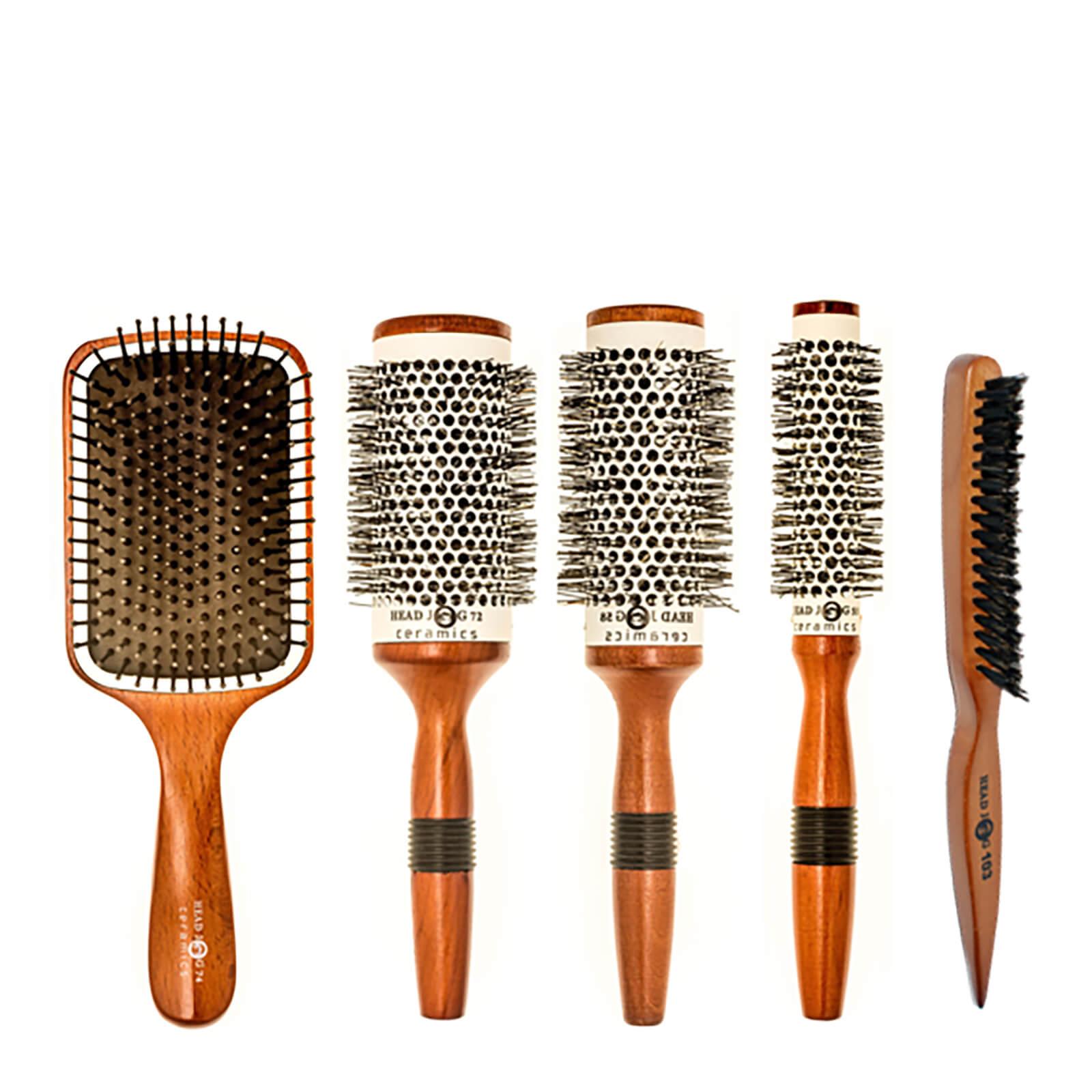 Купить Head Jog Wood Ceramic Brush Set