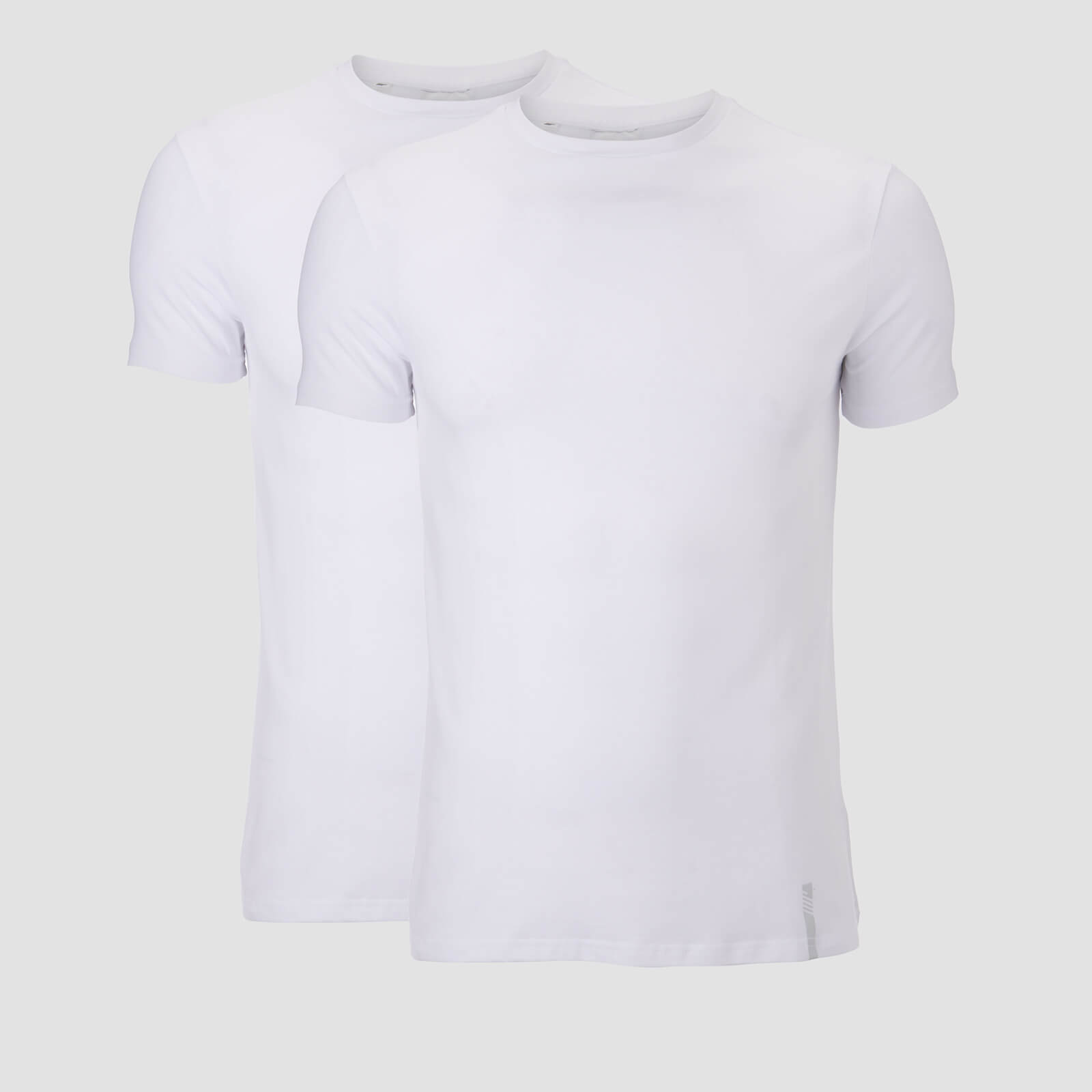T-shirt Luxe Classic Pack de 2 - Blanc - M