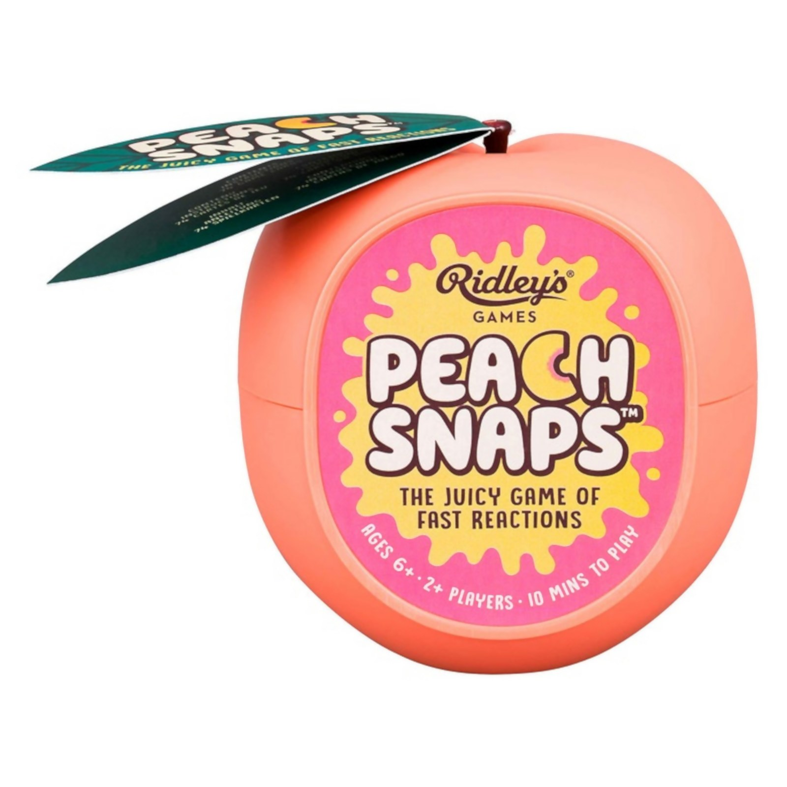 Image of Ridley's Games Peach Snaps Card Game