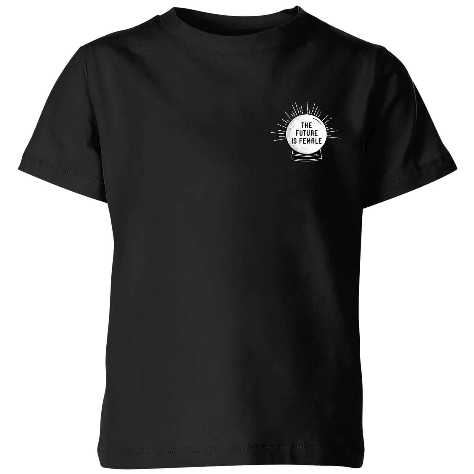 The Future Is Female Kids' T-Shirt - Black - 11-12 Years - Black