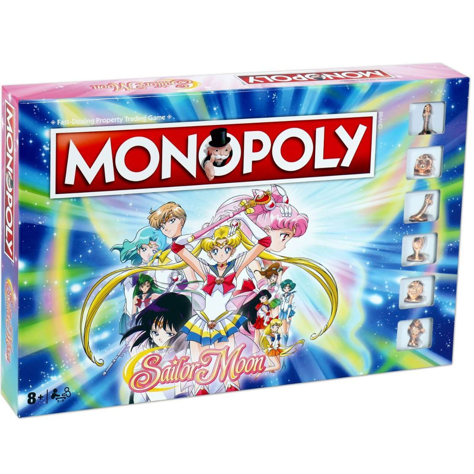 Image of Monopoly Board Game - Sailor Moon Edition