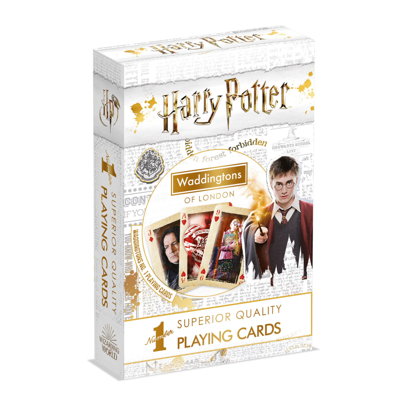 Image of Waddingtons Number 1 Playing Cards - Harry Potter Edition