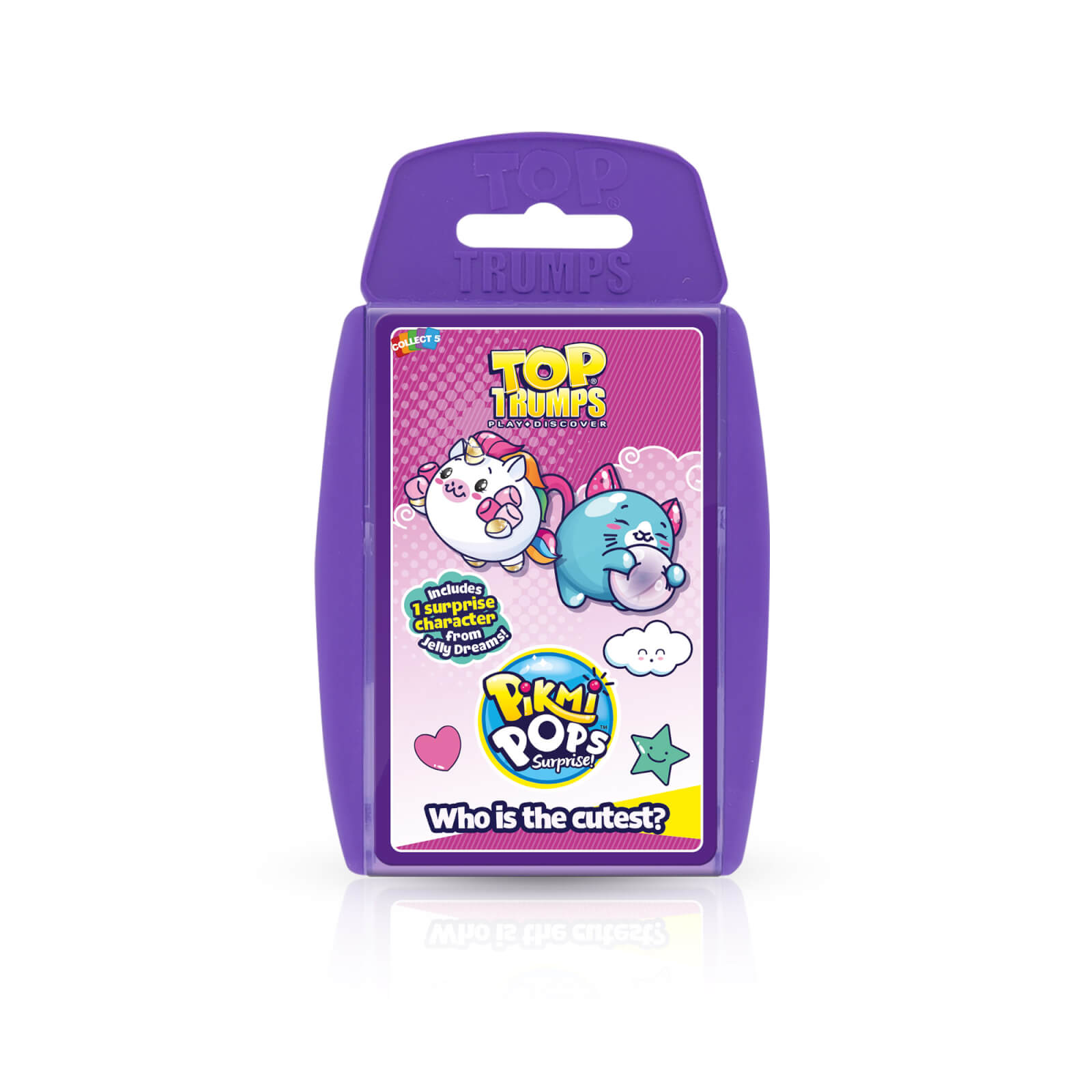 Image of Top Trumps Card Game - Pikmi Pops Edition
