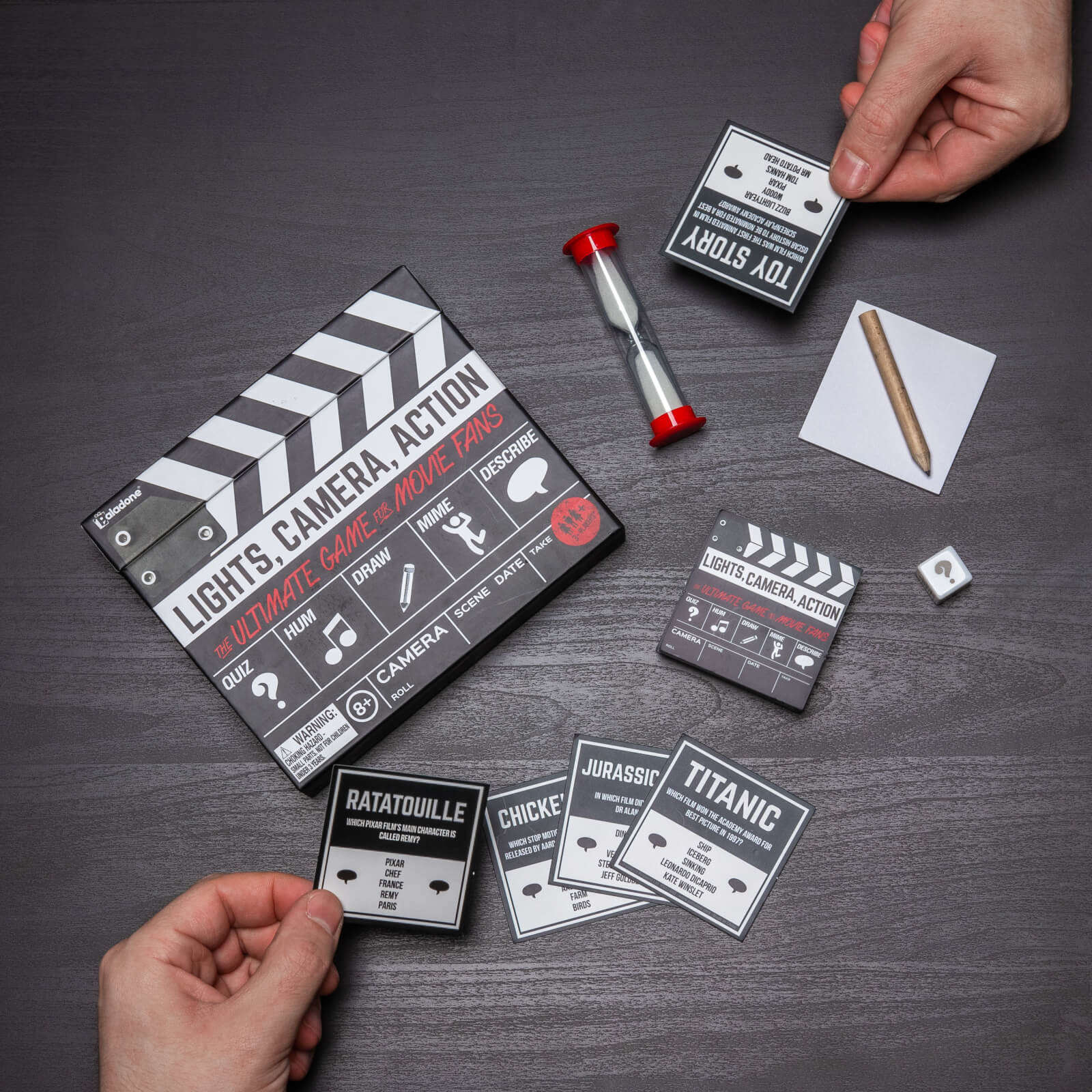 Image of Lights Camera Action Game