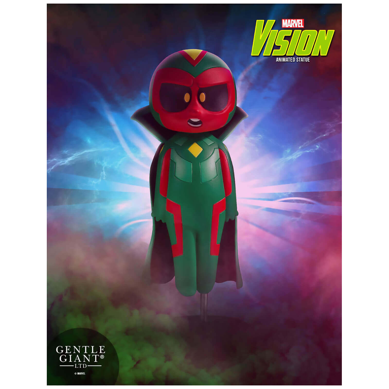 Image of Gentle Giant Marvel Avengers Vision Animated Statue - 15cm