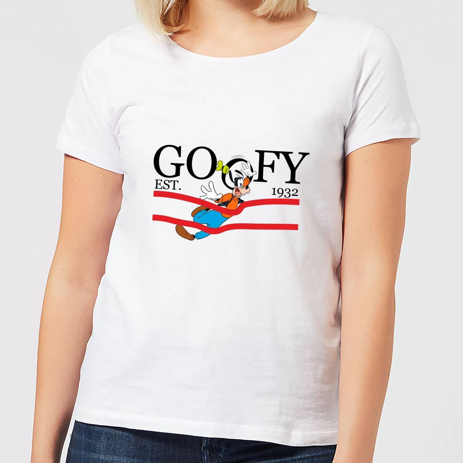 Disney Disney Goofy By Nature Women's T-Shirt - White - 5XL - White