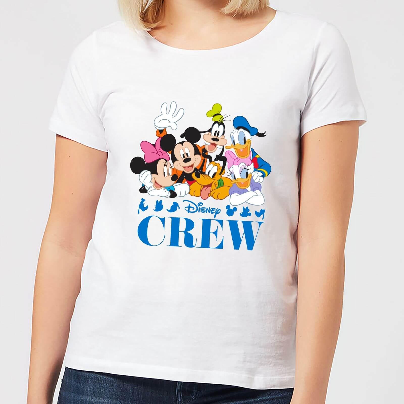Disney Disney Crew Women's T-Shirt - White - 4XL - White