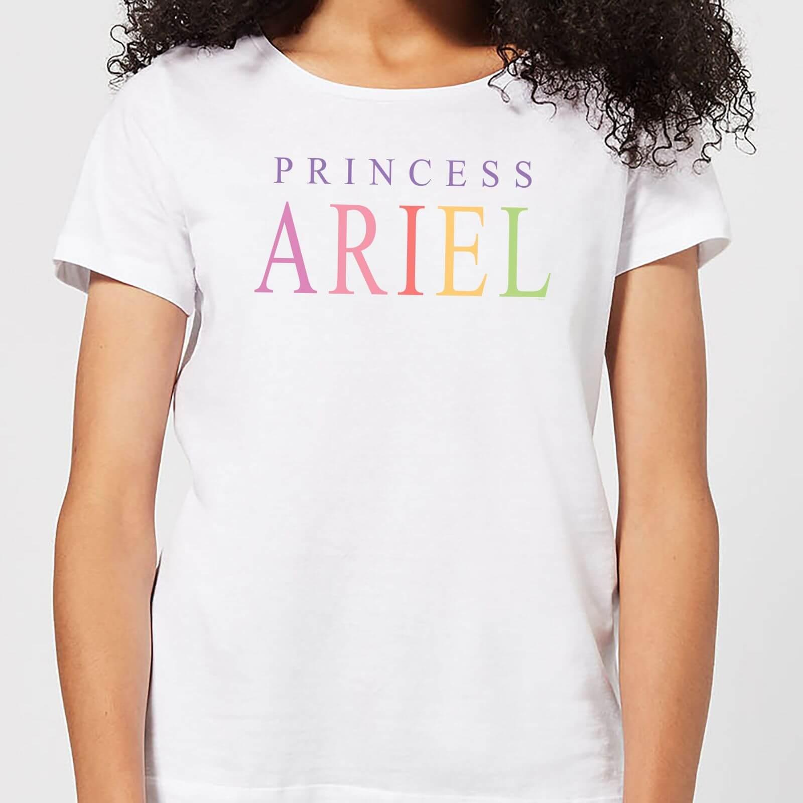 Disney Disney The Little Mermaid Princess Ariel Women's T-Shirt - White - 3XL - White