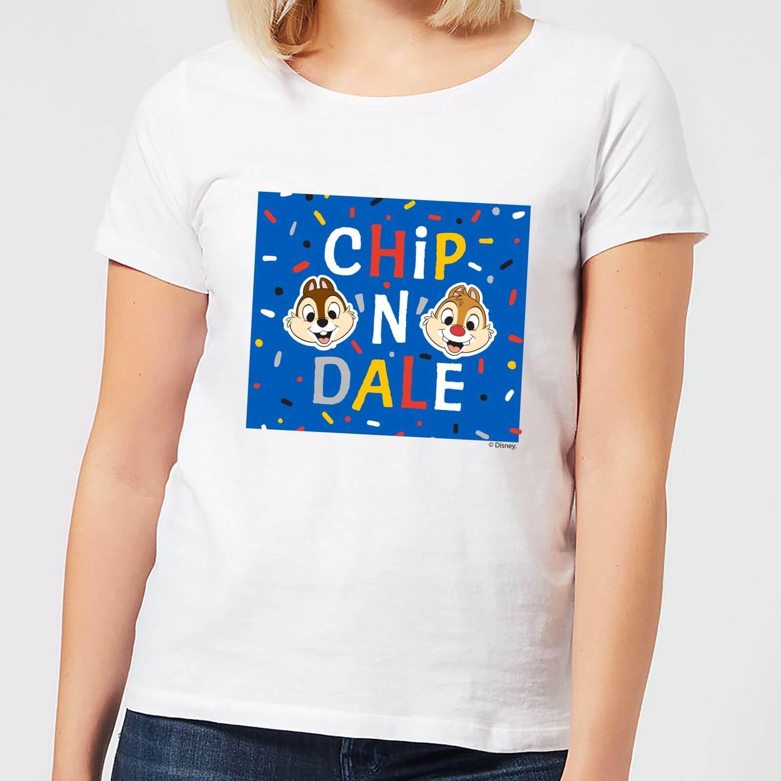Disney Disney Chip N' Dale Women's T-Shirt - White - 4XL - White