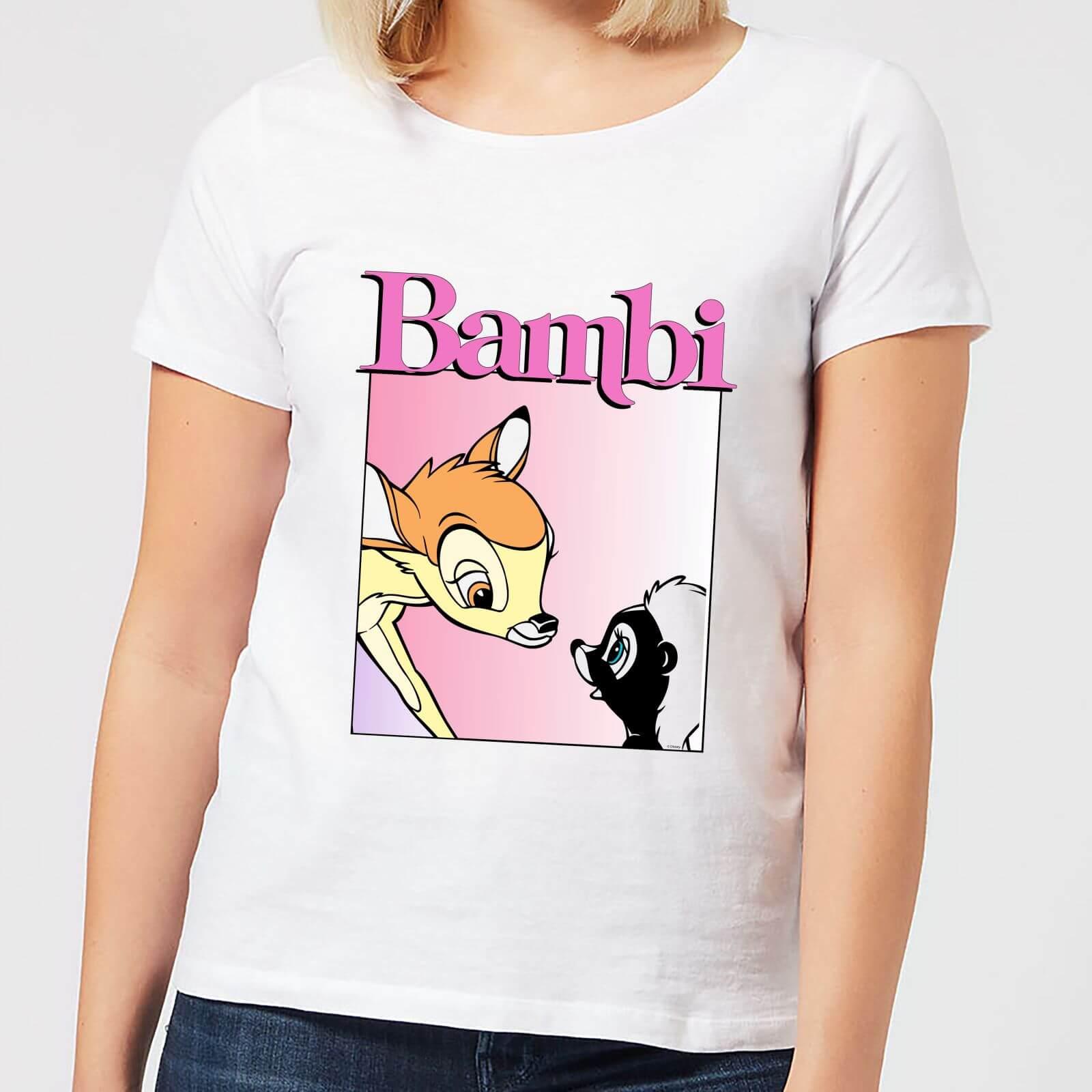 Disney Disney Bambi Nice To Meet You Women's T-Shirt - White - 3XL - White