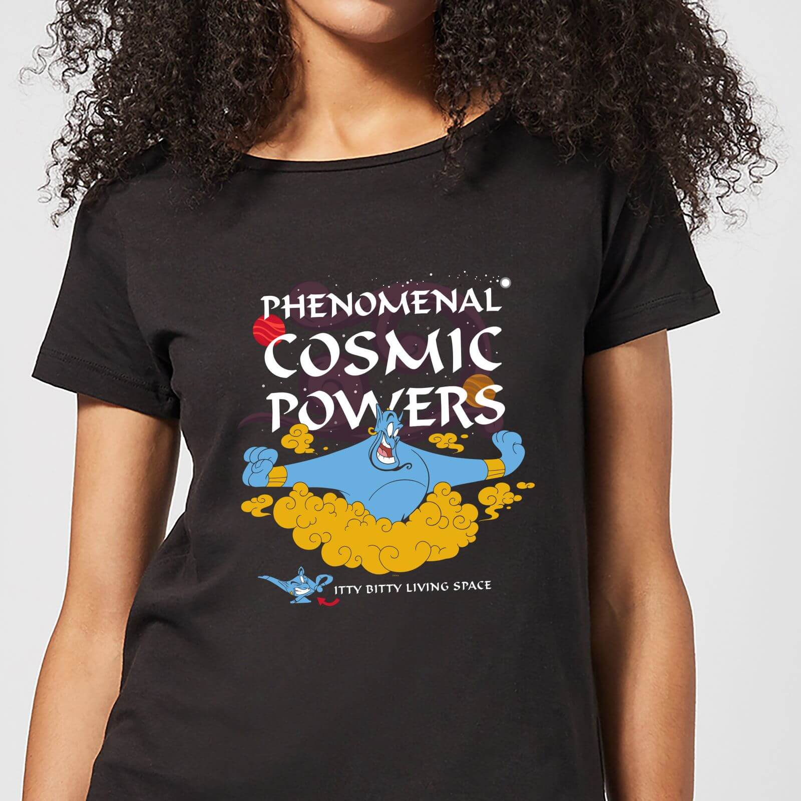 Disney Disney Aladdin Phenomenal Cosmic Power Women's T-Shirt - Black - 3XL - Black