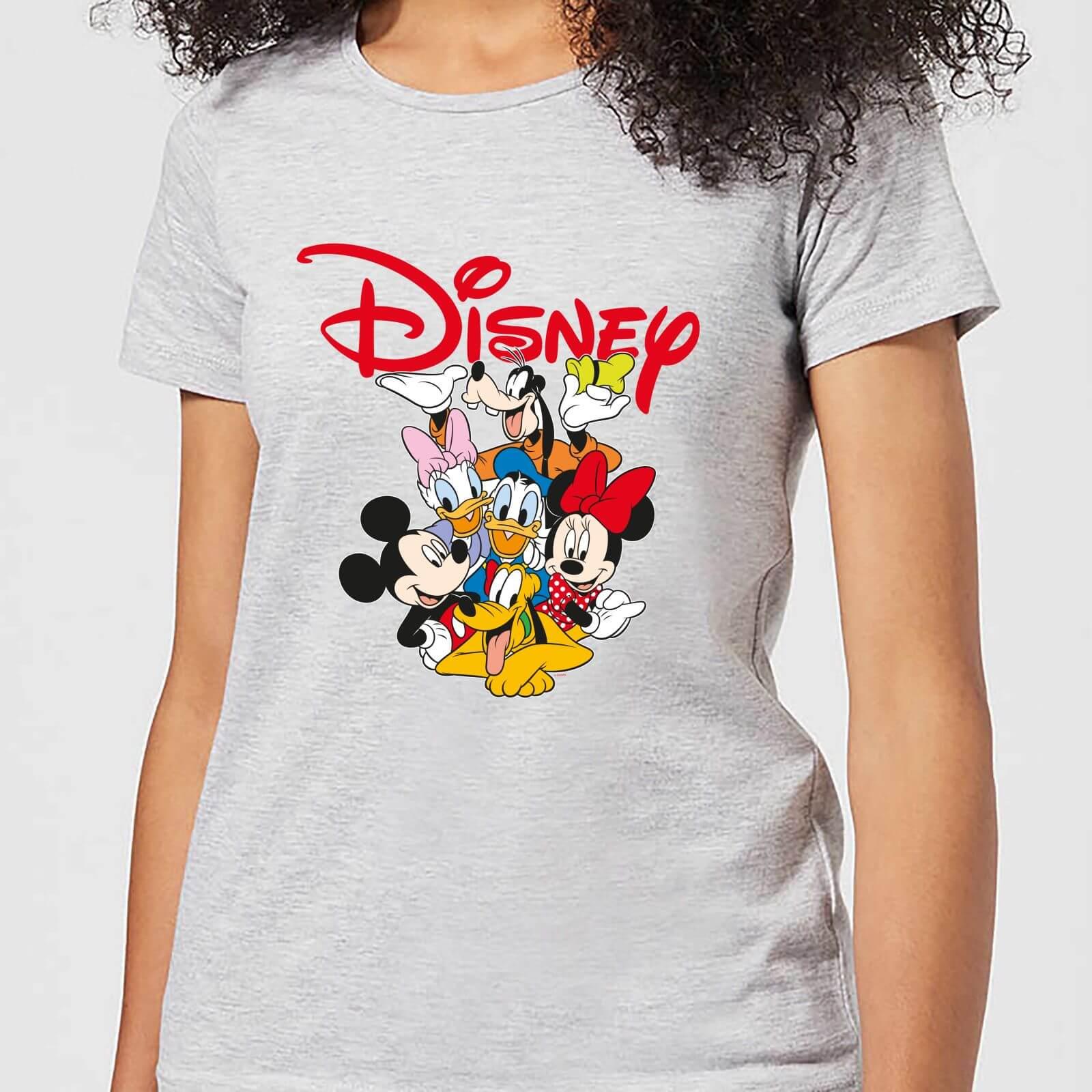 Disney Mickey Mouse Disney Crew Women's T-Shirt - Grey - 3XL - Grey