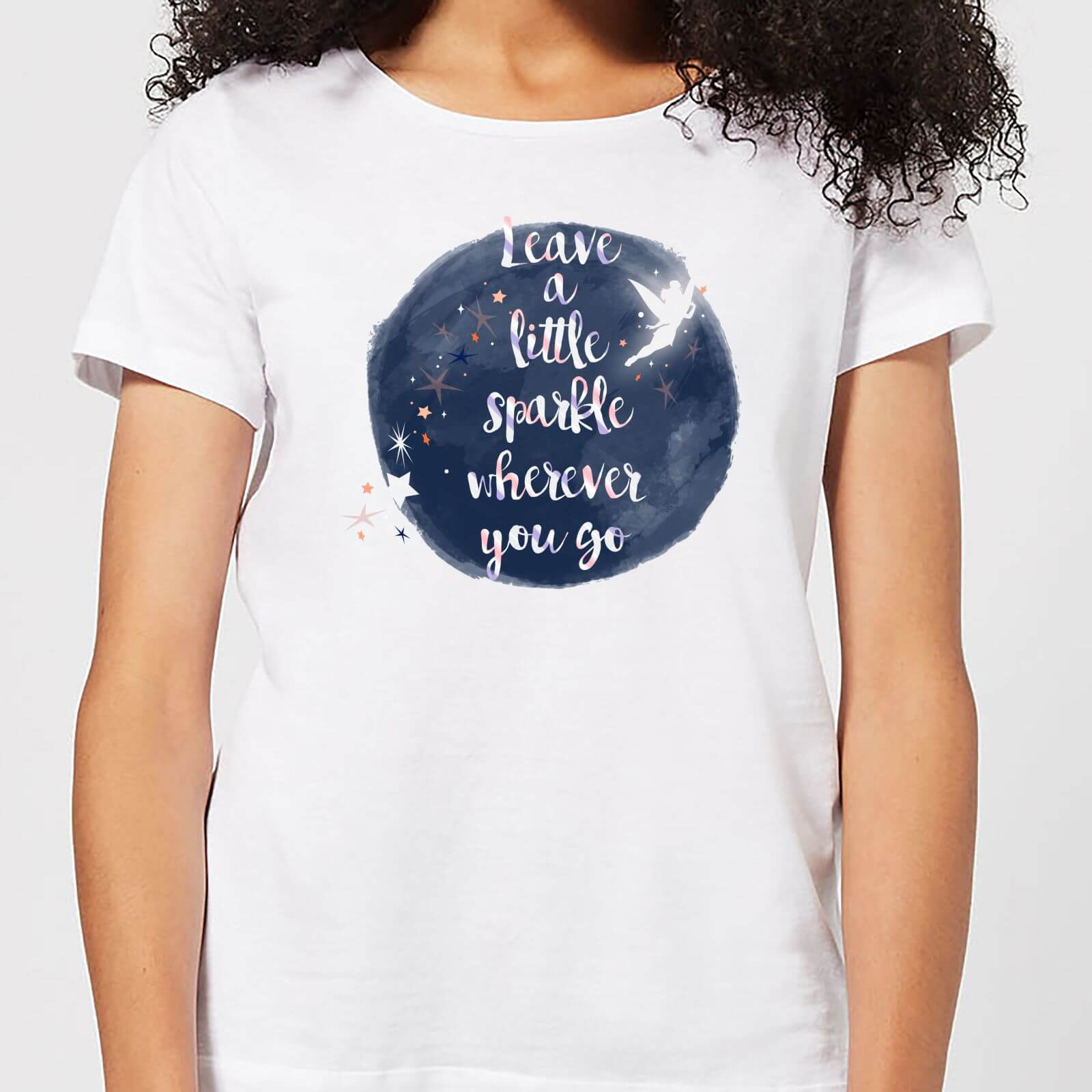Disney Disney Leave A Little Sparkle Women's T-Shirt - White - 4XL - White