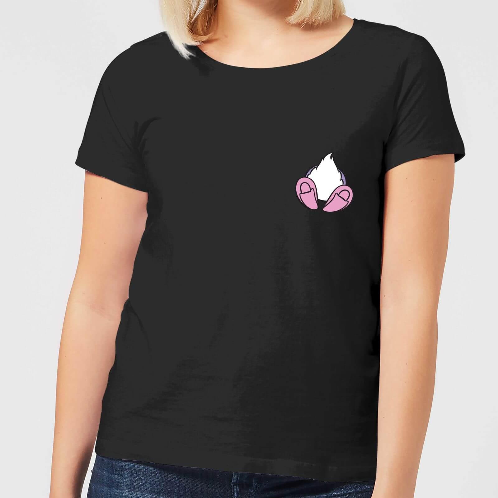 Disney Disney Daisy Duck Backside Women's T-Shirt - Black - 3XL - Black