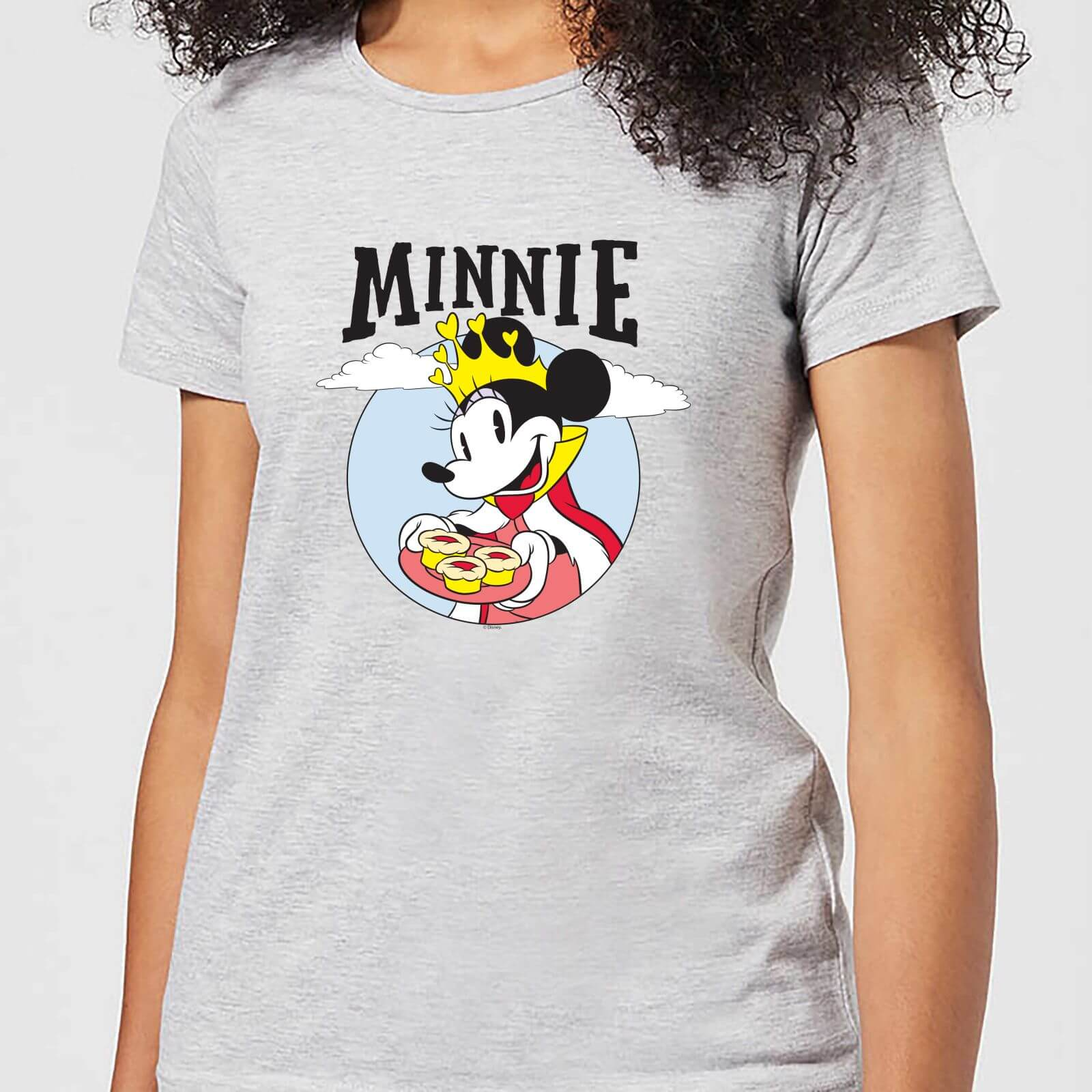 Disney Disney Mickey Mouse Queen Minnie Women's T-Shirt - Grey - 3XL - Grey