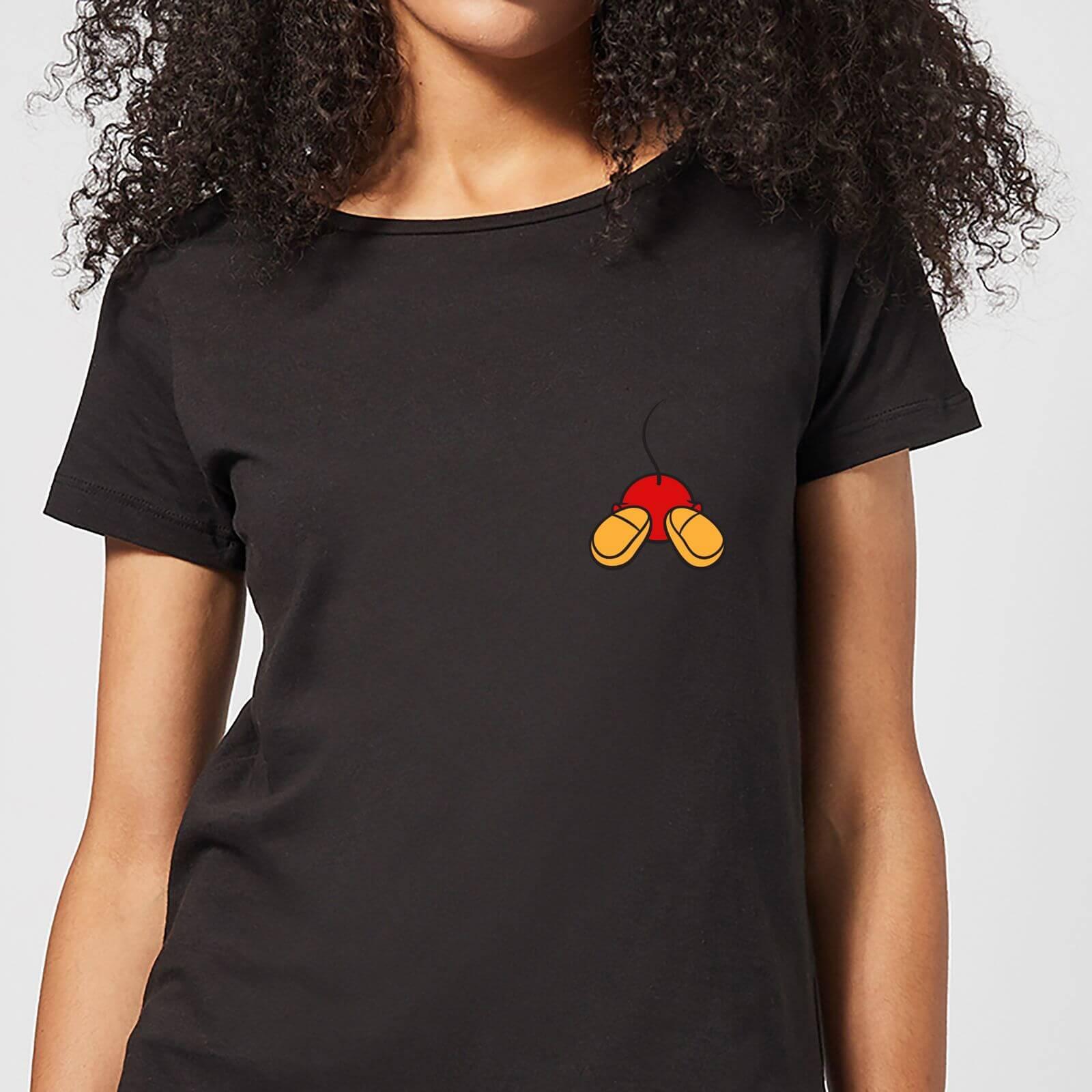 Disney Disney Mickey Mouse Backside Women's T-Shirt - Black - 3XL - Black